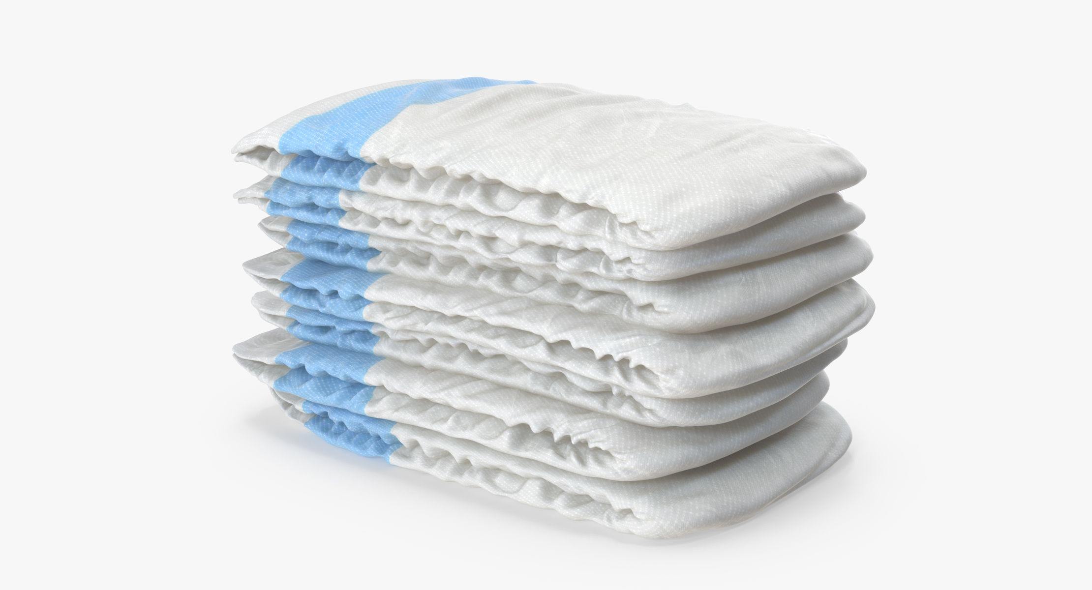 Diapers Stack Blue - reel 1