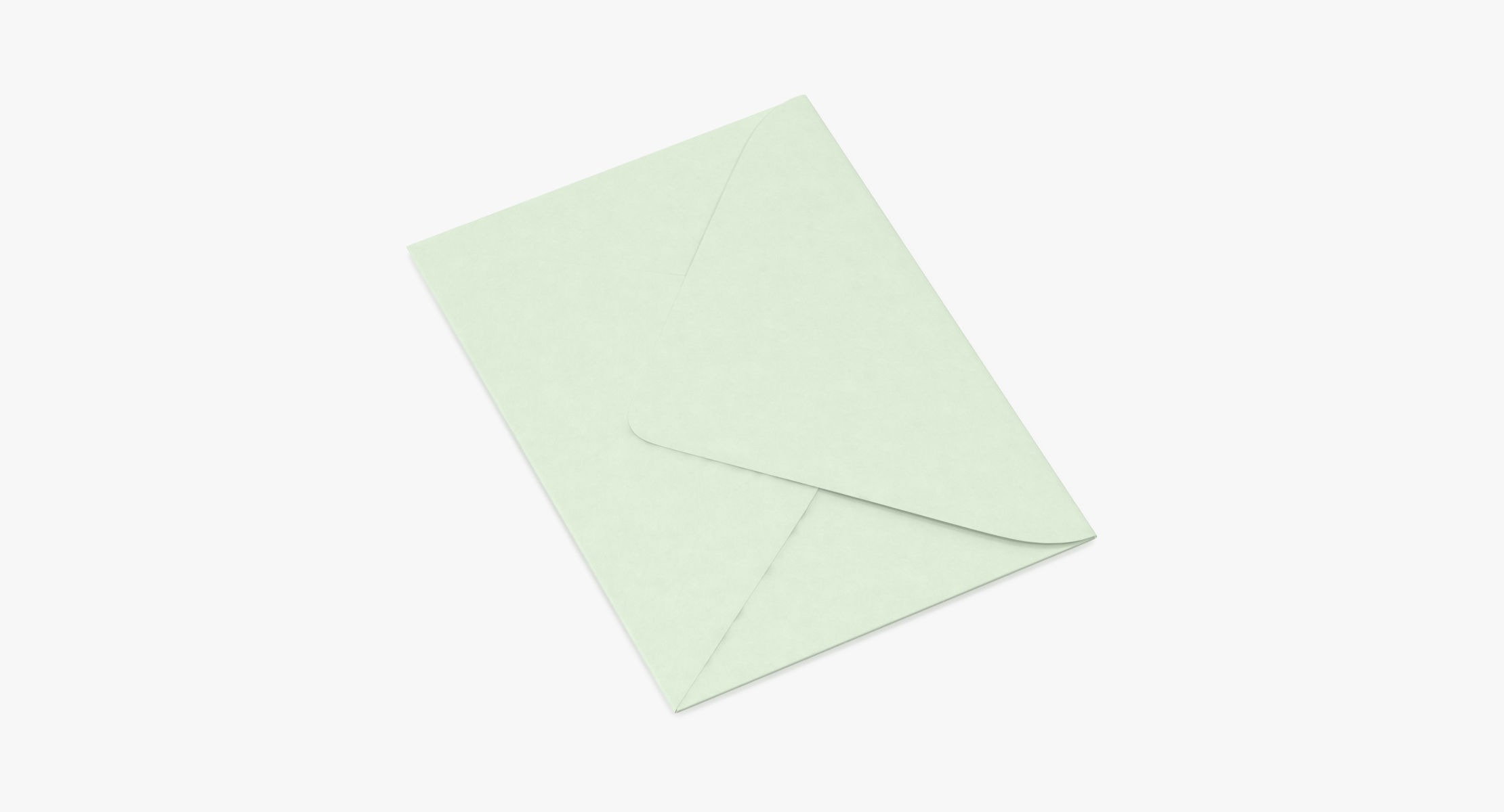 Baby Shower Envelope Closed - Green - reel 1
