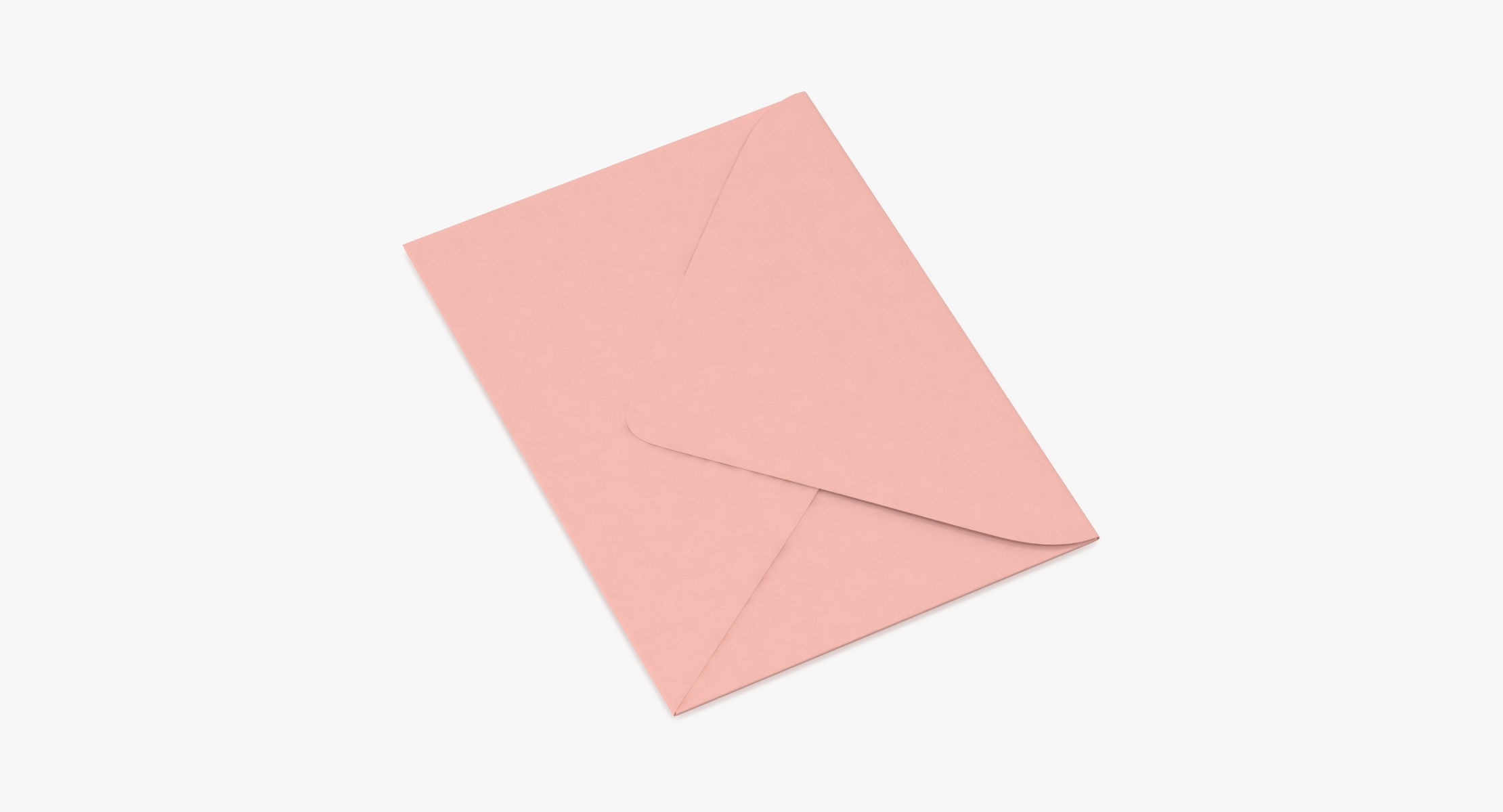 Baby Shower Envelope Closed - Pink - reel 1