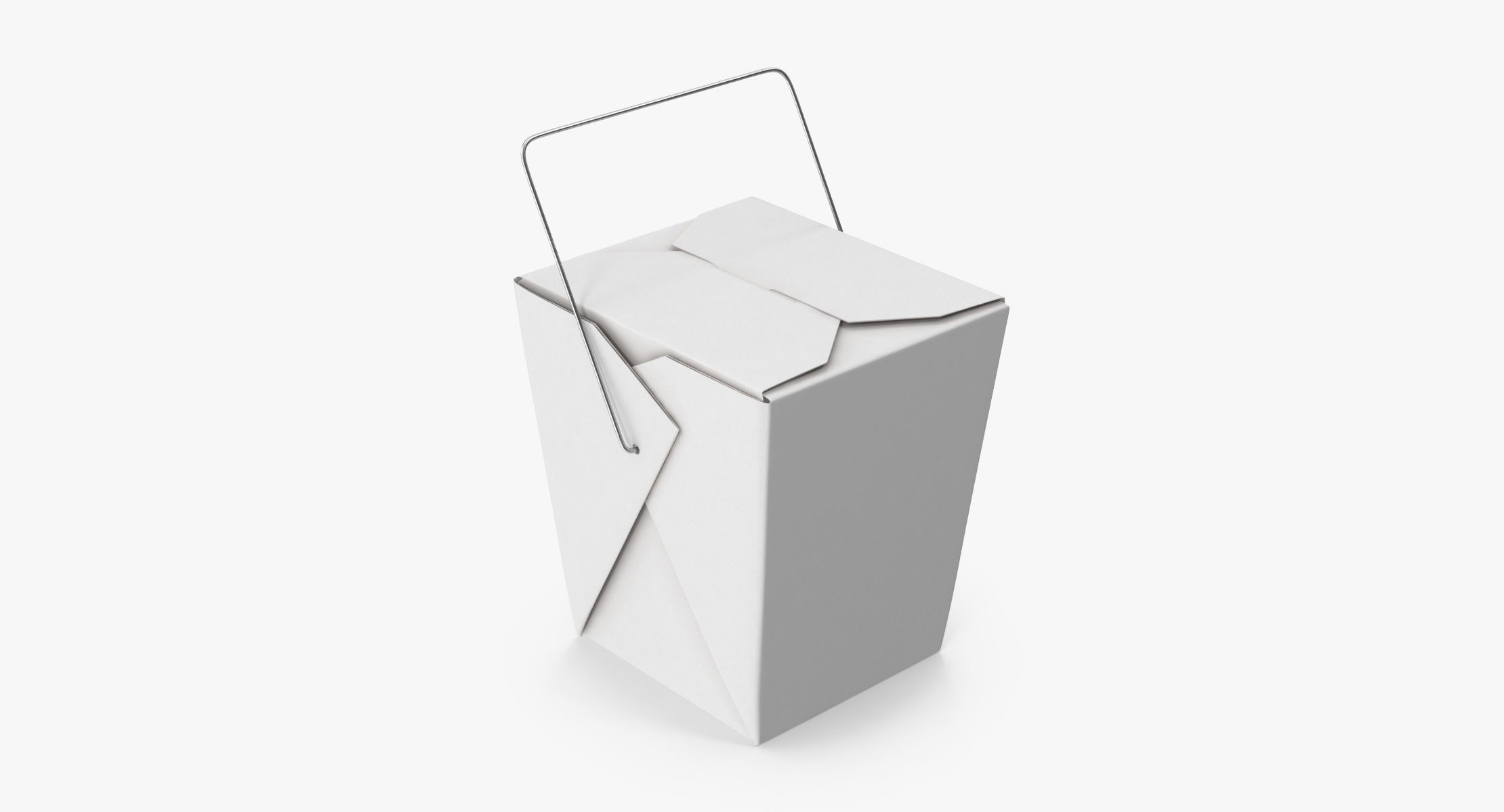 Chinese Takeout Box Closed - reel 1