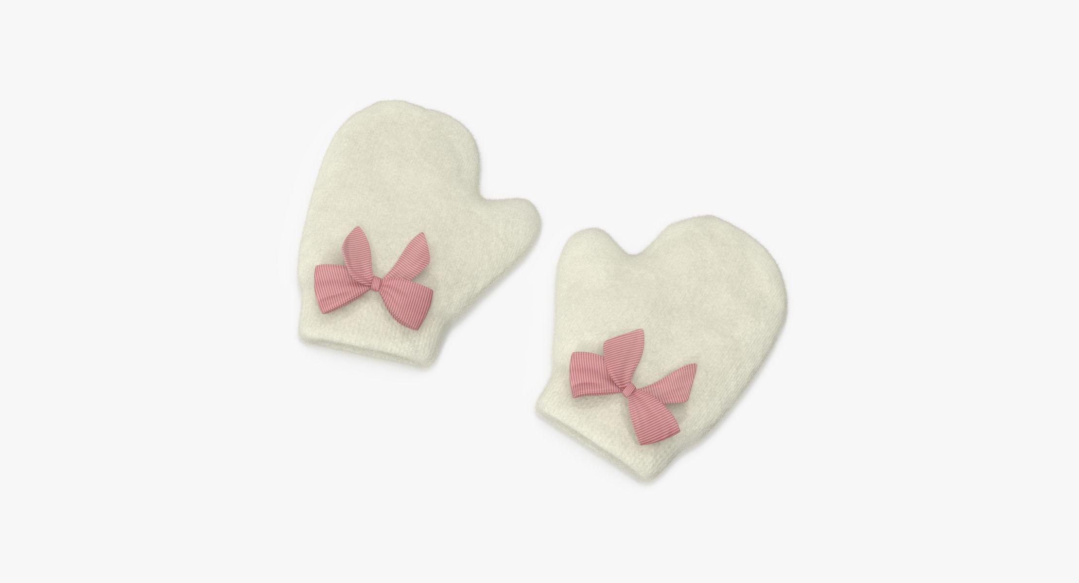 Newborn Mittens 03 Pink - reel 1