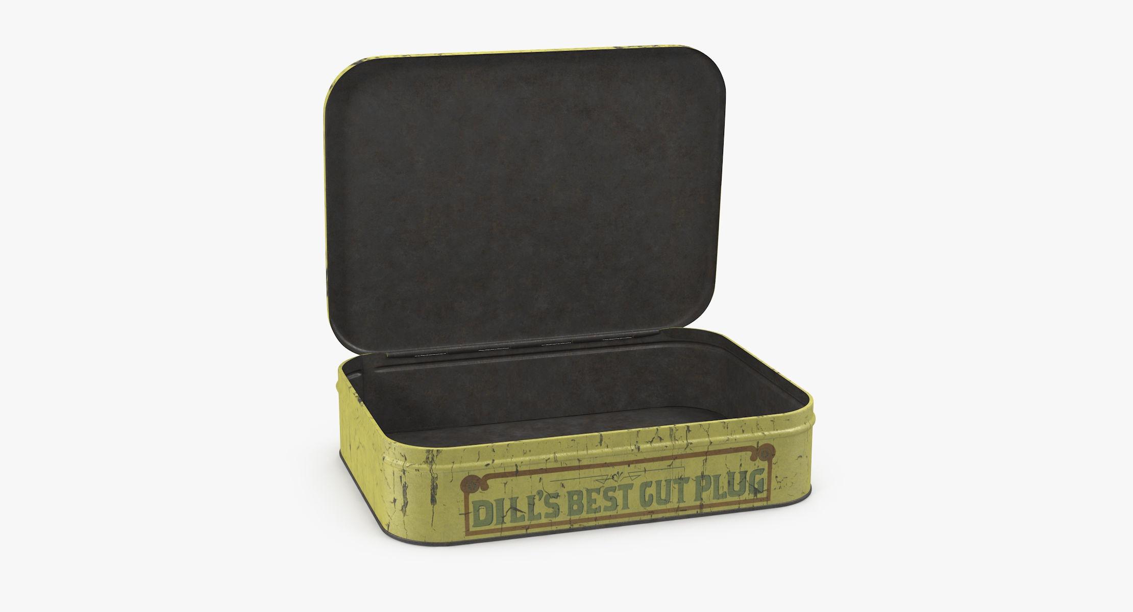 Vintage Tobacco Tin 02 - reel 1
