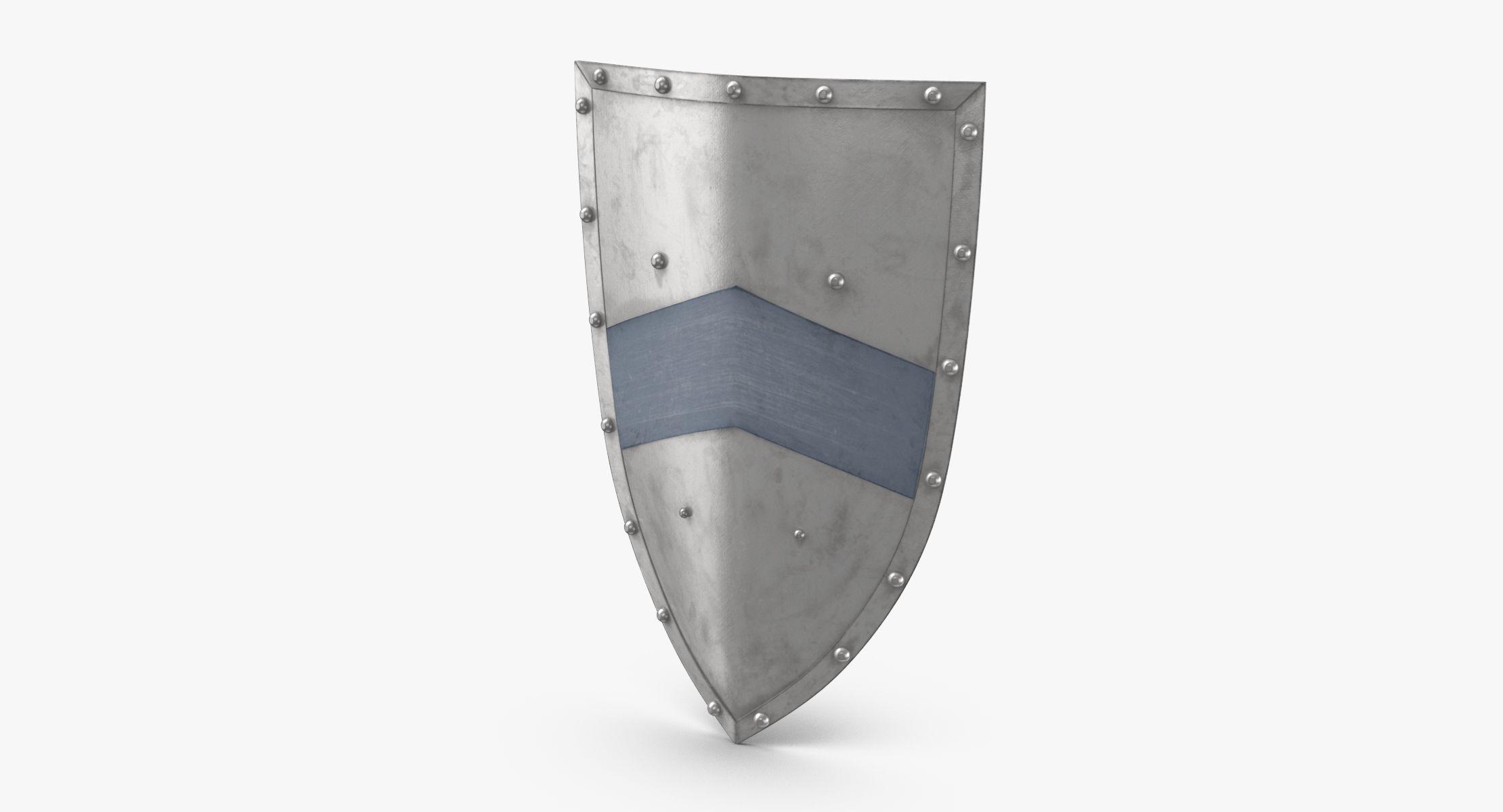 Medieval Metal Shield - reel 1