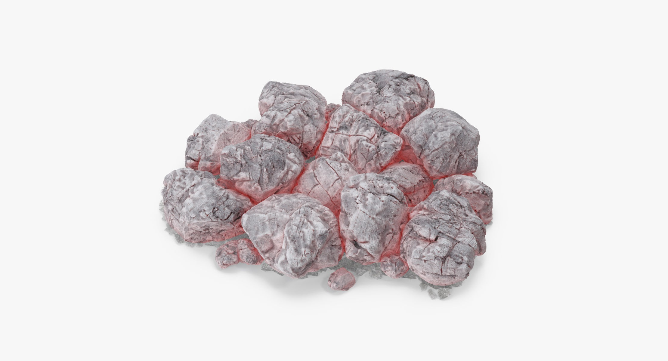 Pile of Buring Coals - reel 1