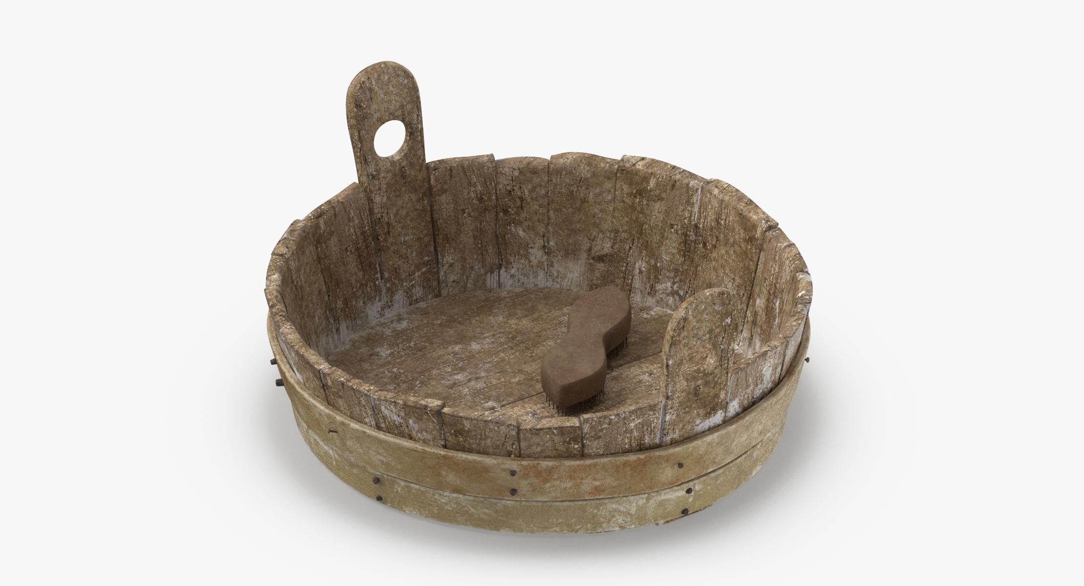 Medieval Wash Tub 01 - reel 1