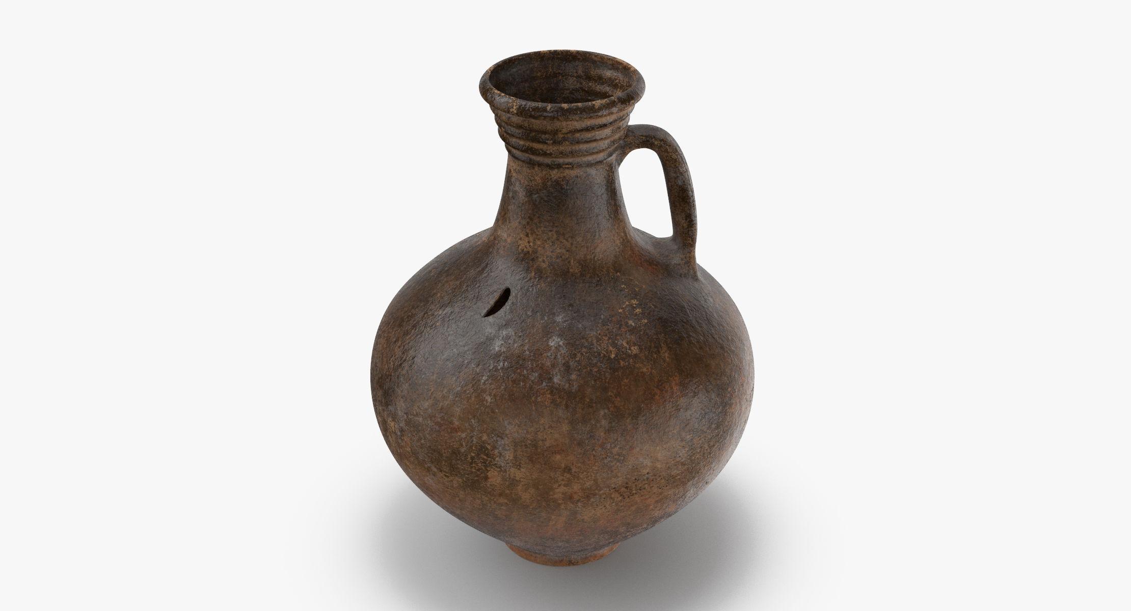 Ceramic Wine Jug 01 - reel 1