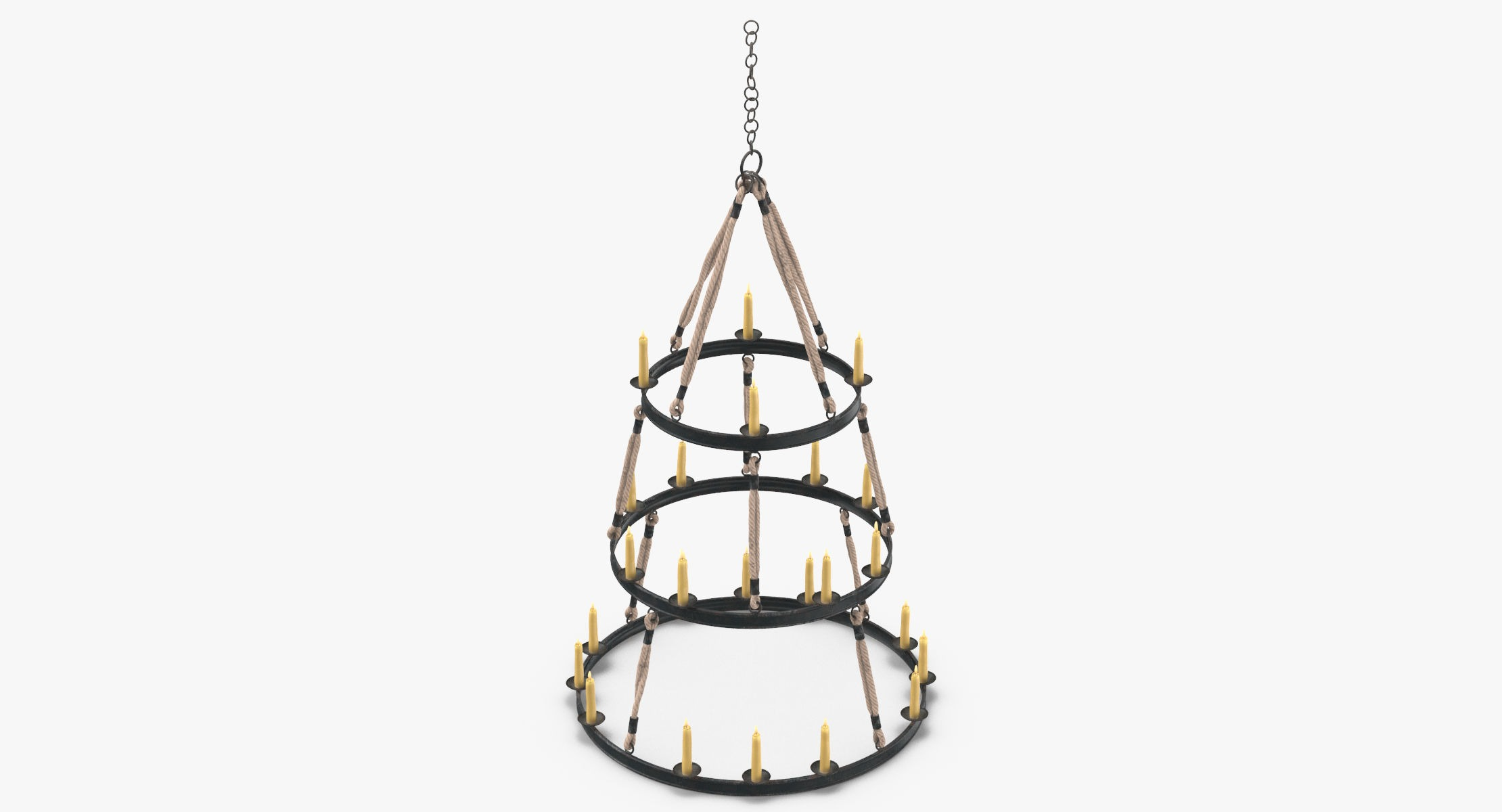 Candle Chandelier 02 - reel 1