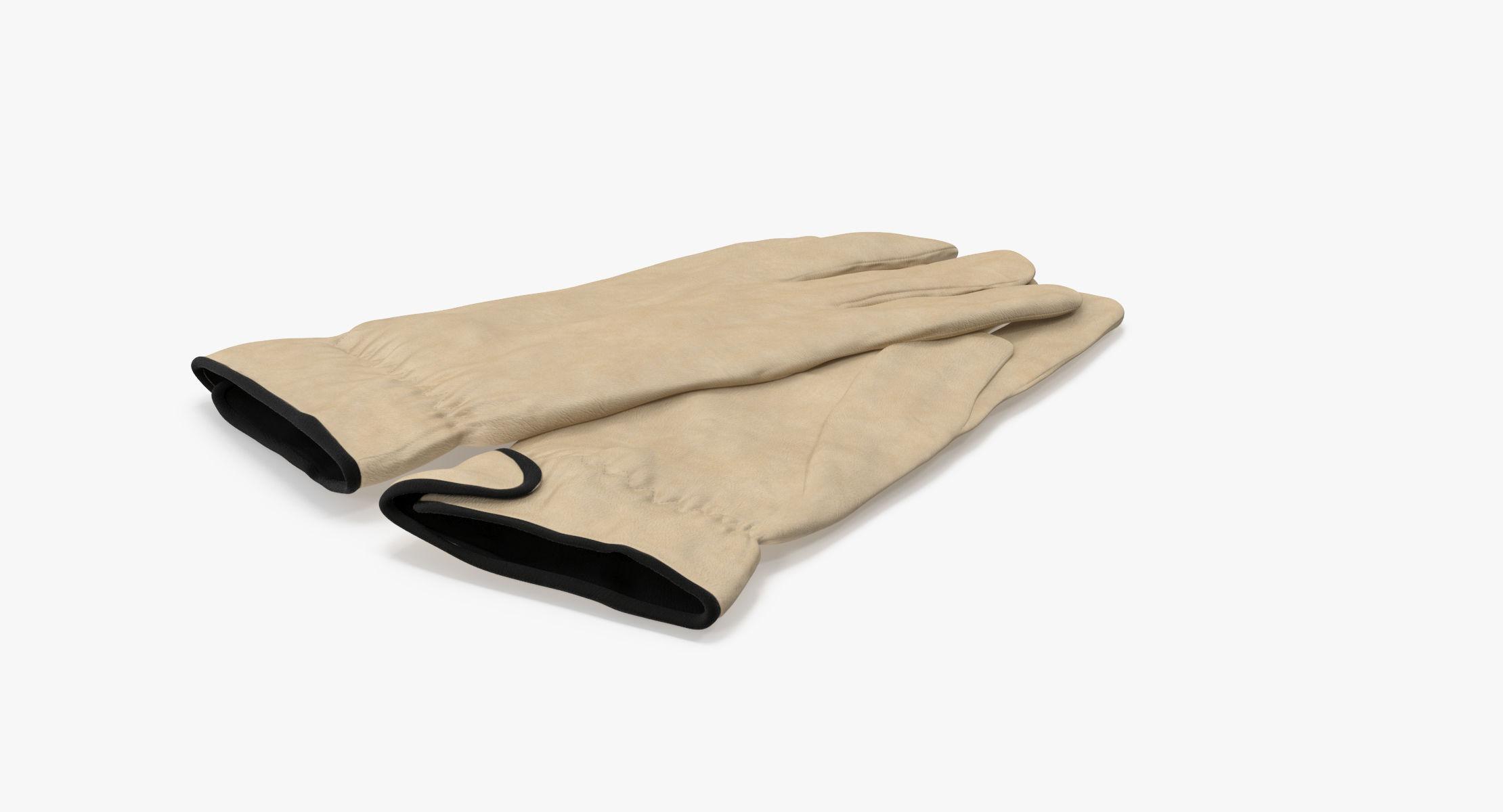 Leather Work Gloves 02 - reel 1