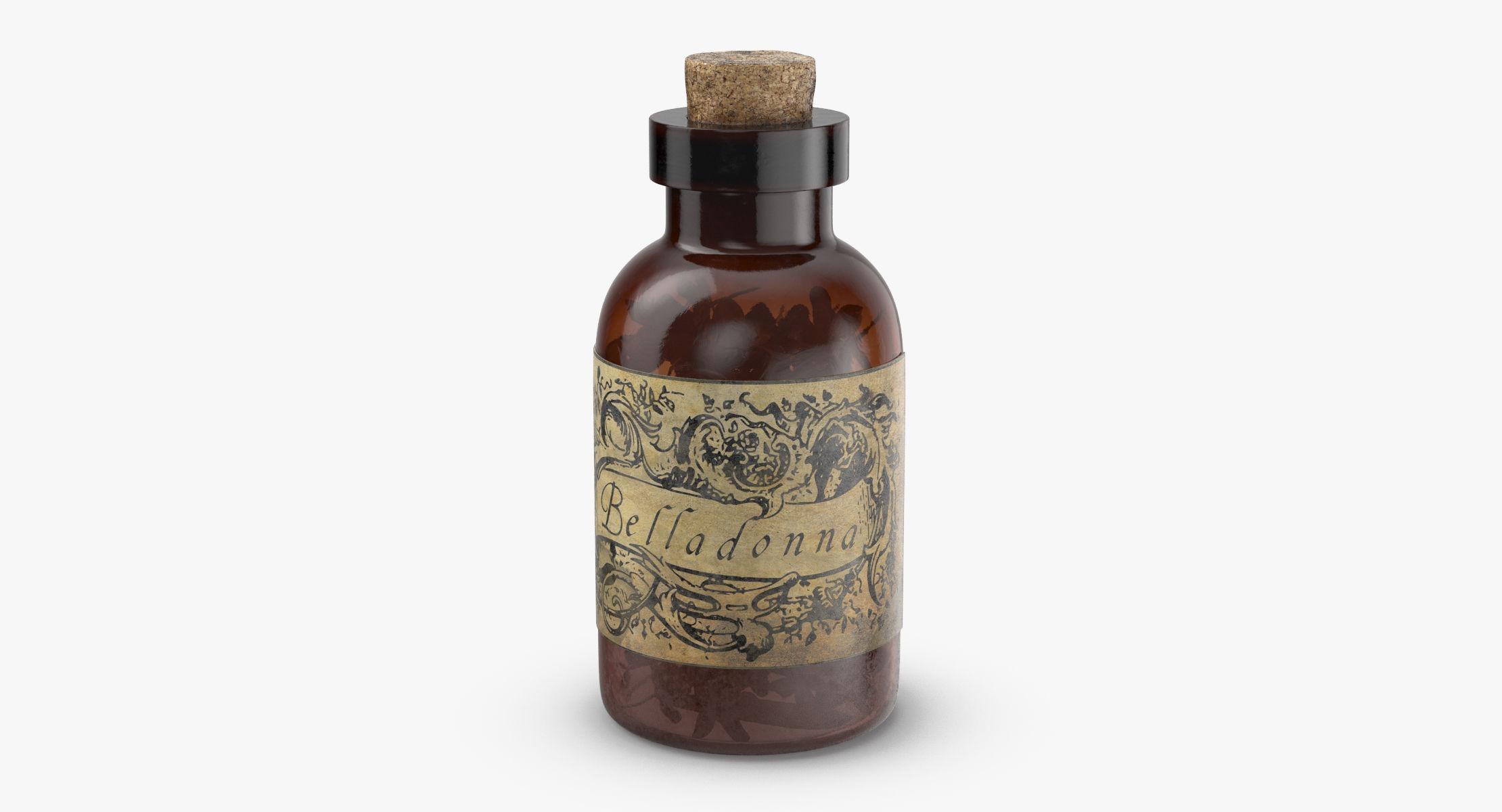 Potion Ingredient Jar - Belladonna - reel 1