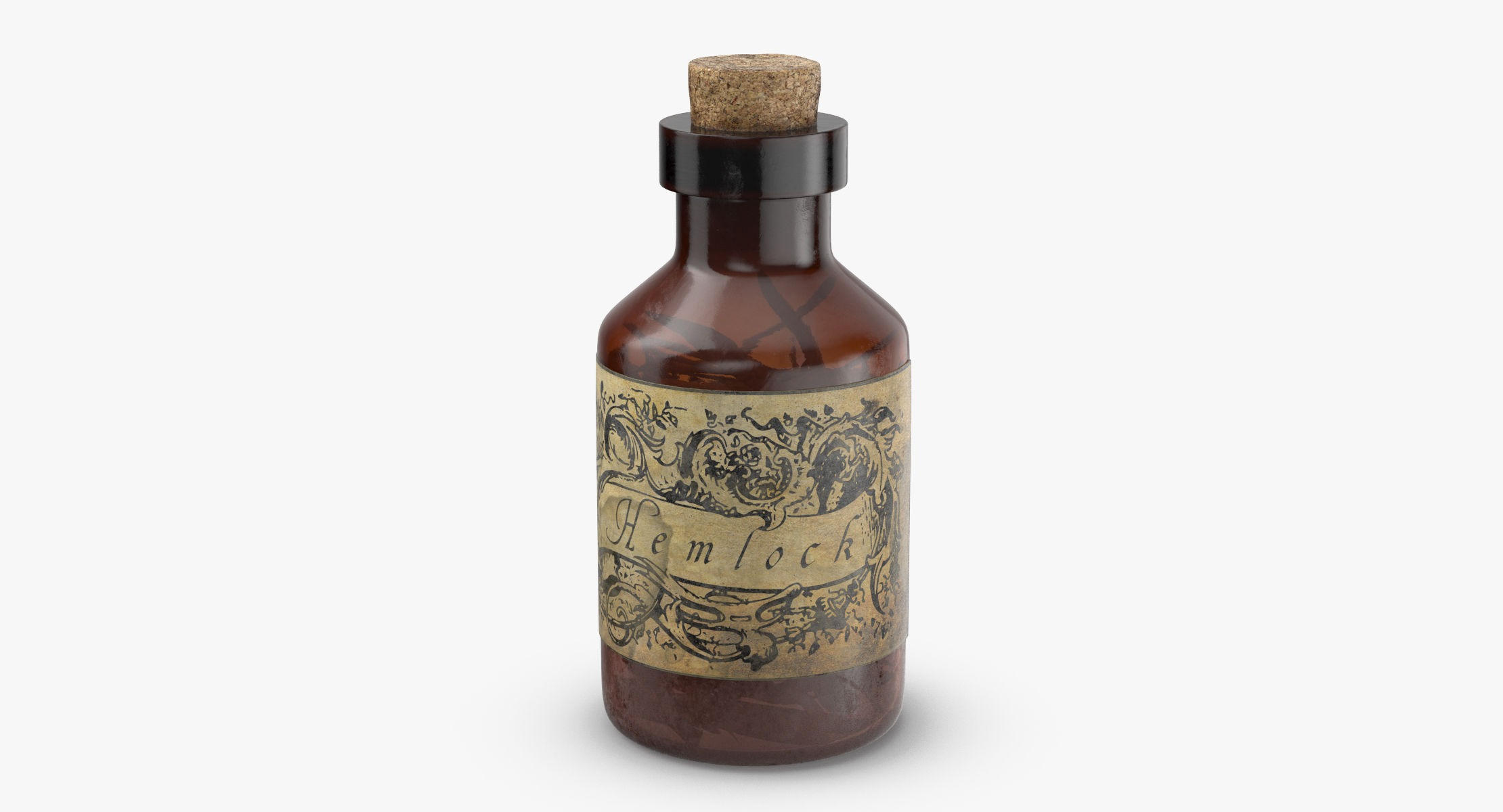 Potion Ingredient Jar - Hemlock - reel 1