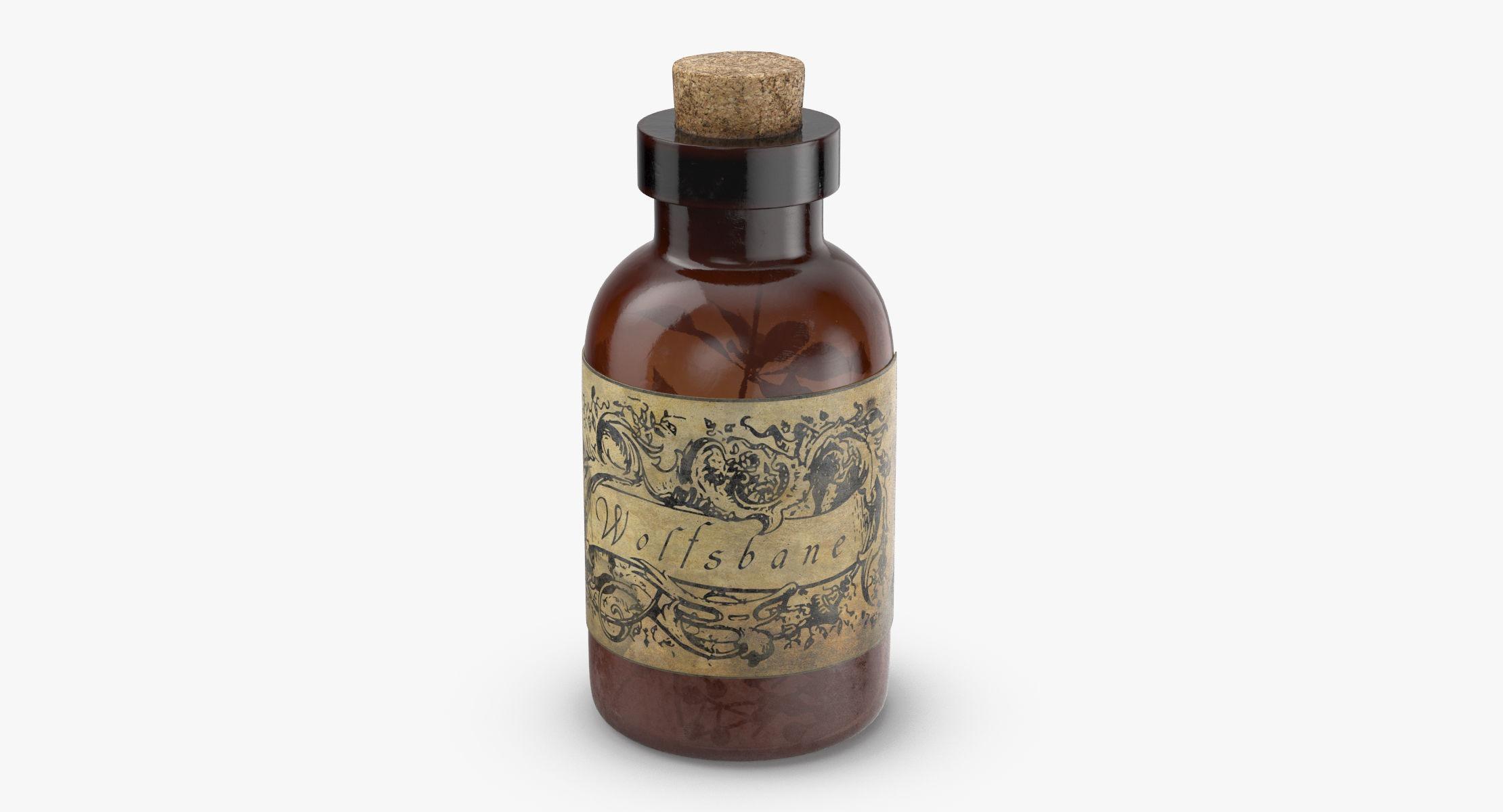 Potion Ingredient Jar - Wolfsbane - reel 1