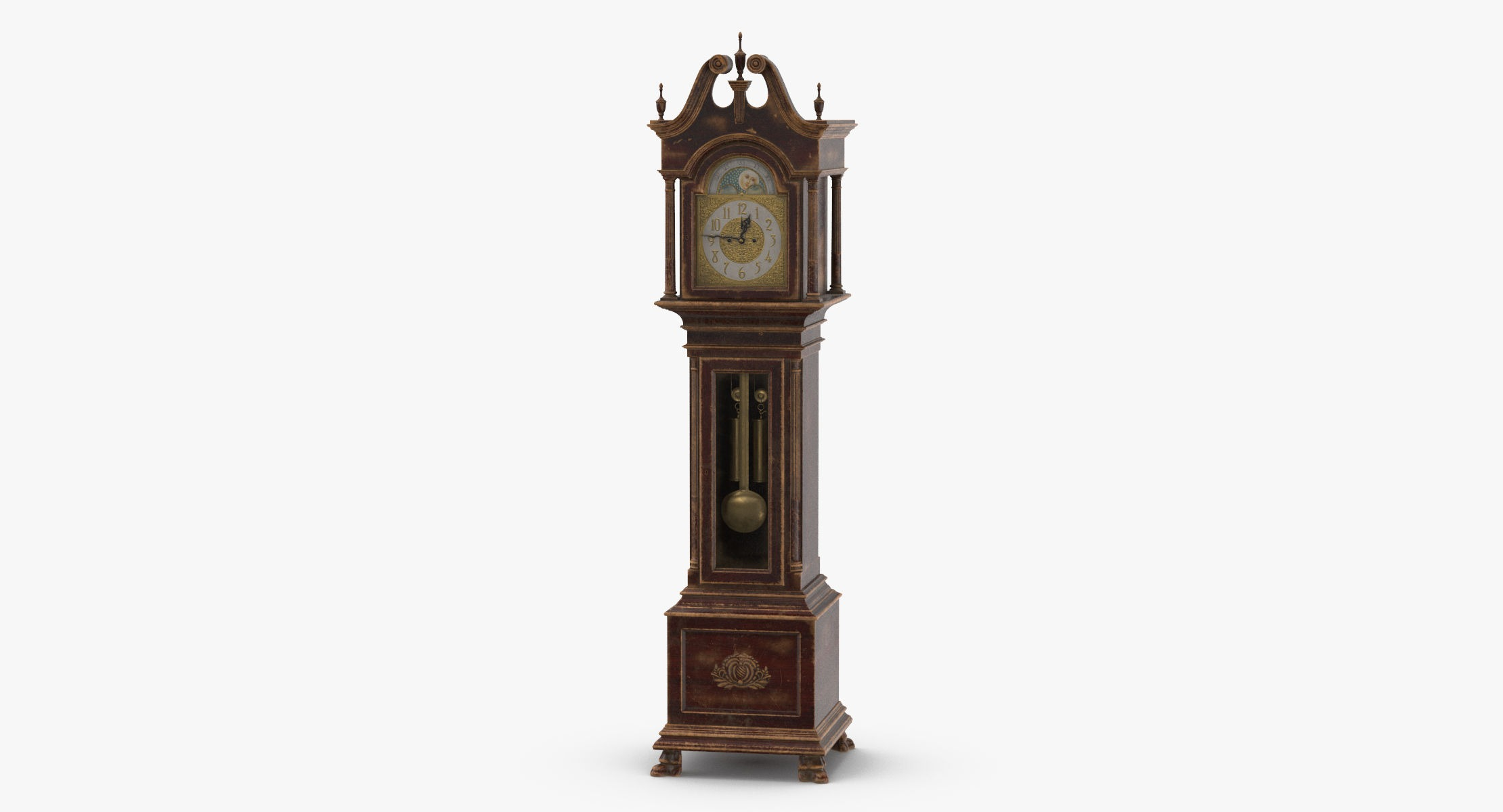 Creepy Grandfather Clock 01 - reel 1