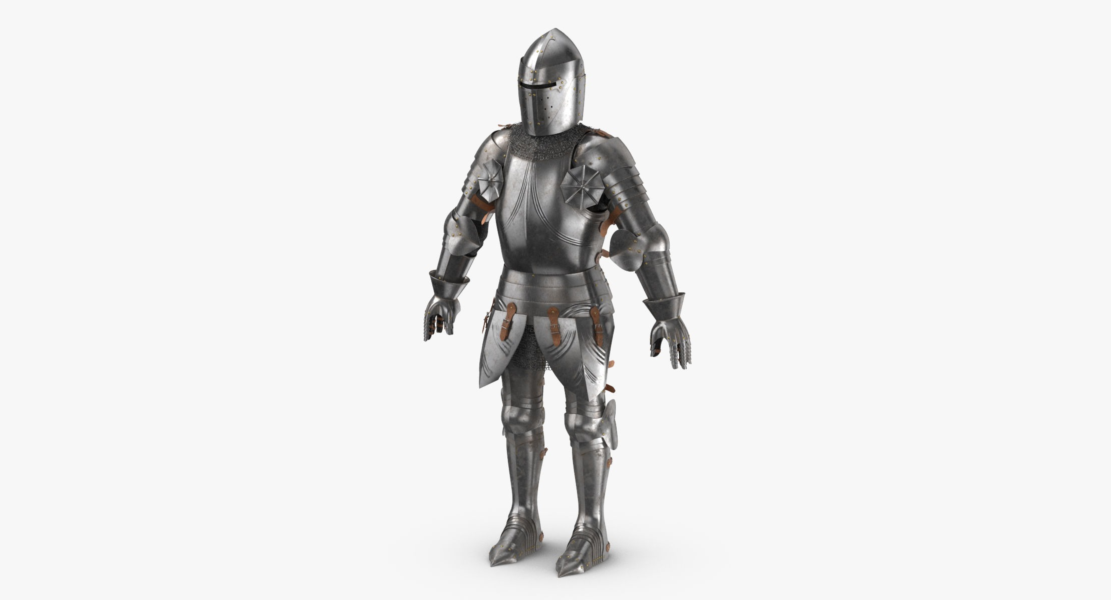 Medieval Knight Armor - Rigged - reel 1