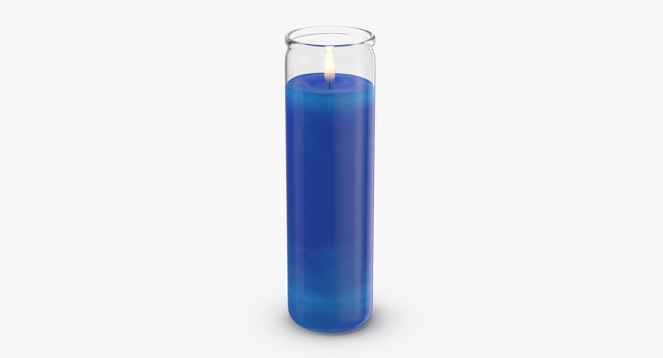 Voodoo Candle 02 - Blue - reel 1