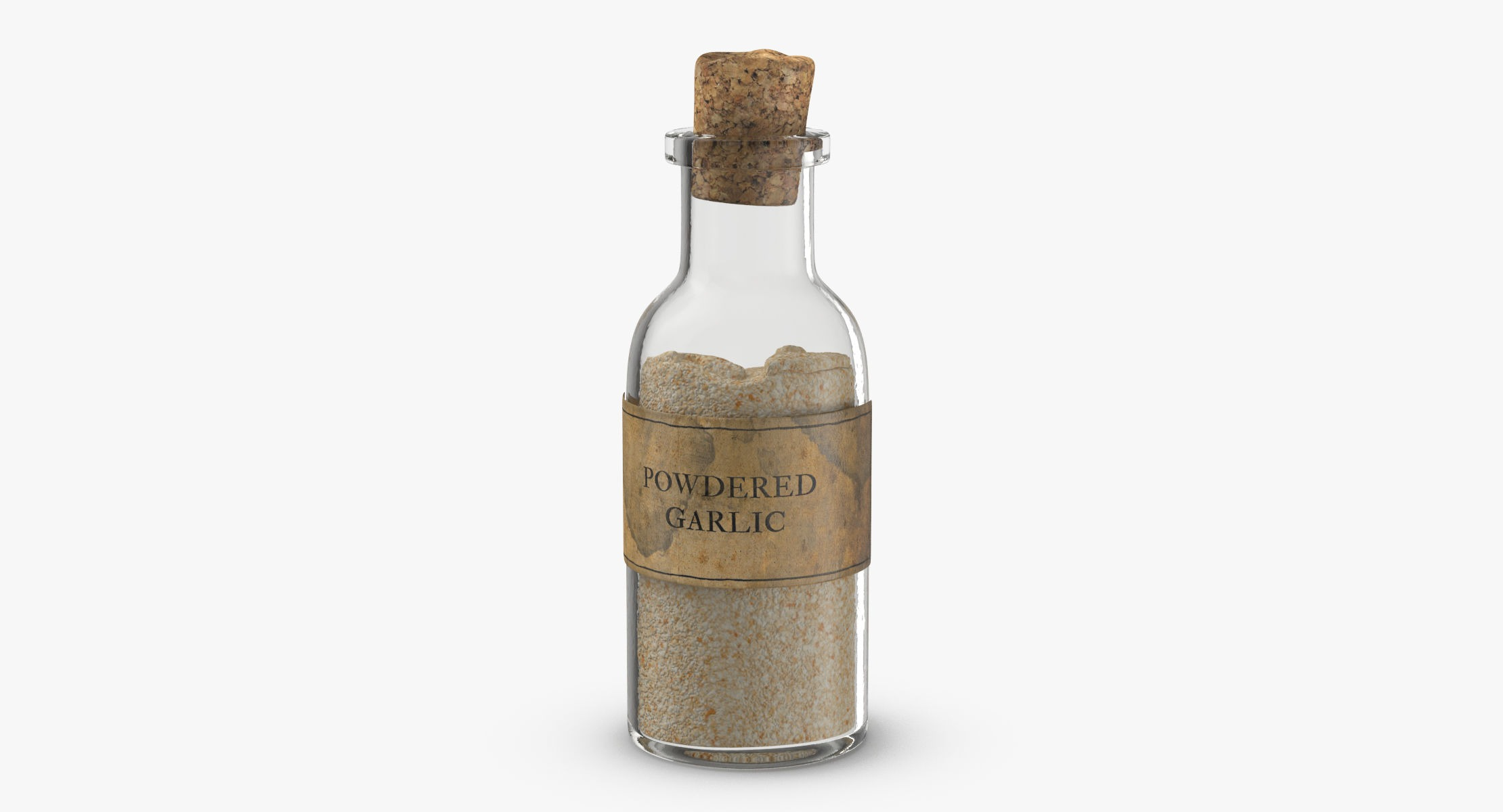 Vampire Hunter Kit - Powdered Garlic Potion - reel 1