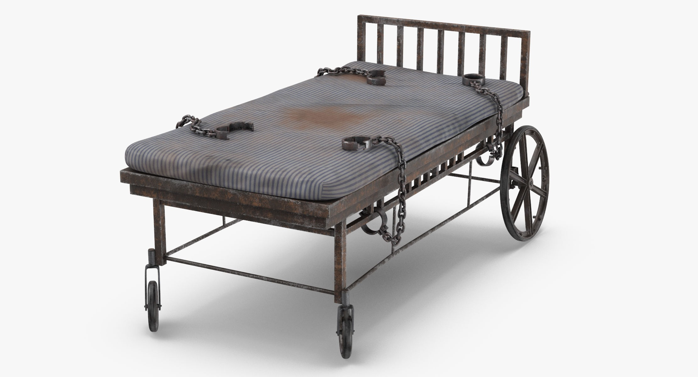 Asylum Bed with Restraints - reel 1