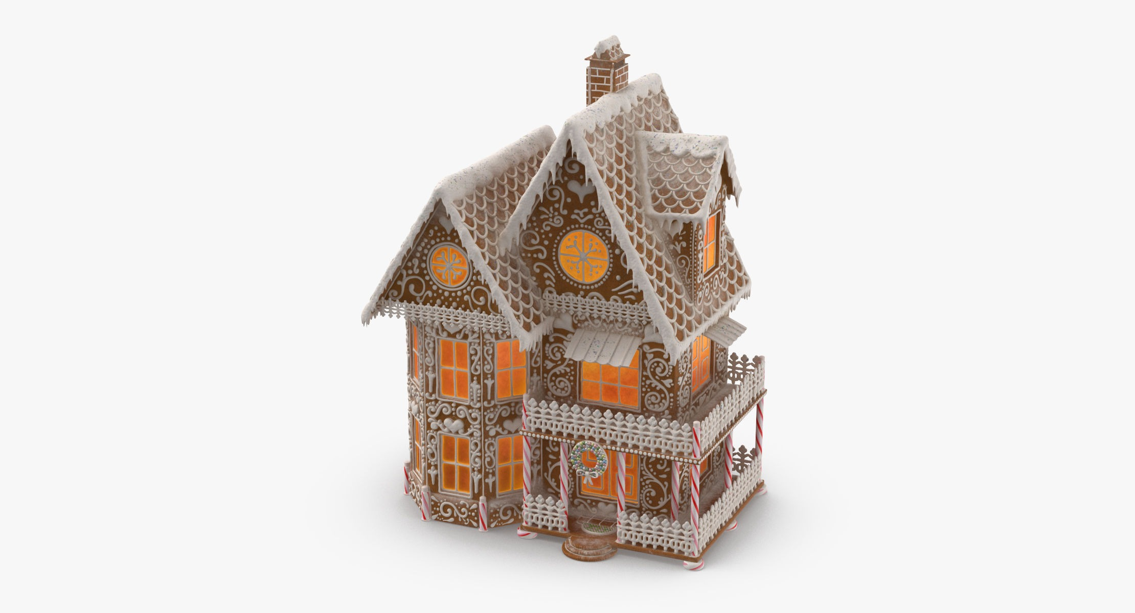 Gingerbread House 3D - reel 1