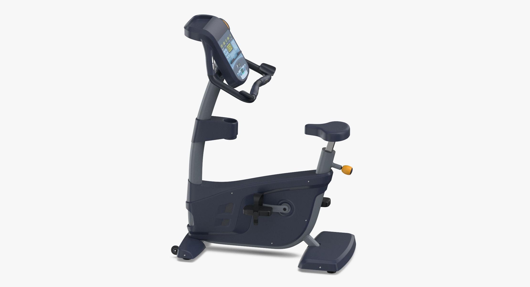 Cardio Machine - Upright Bike 02 3D model - reel 1