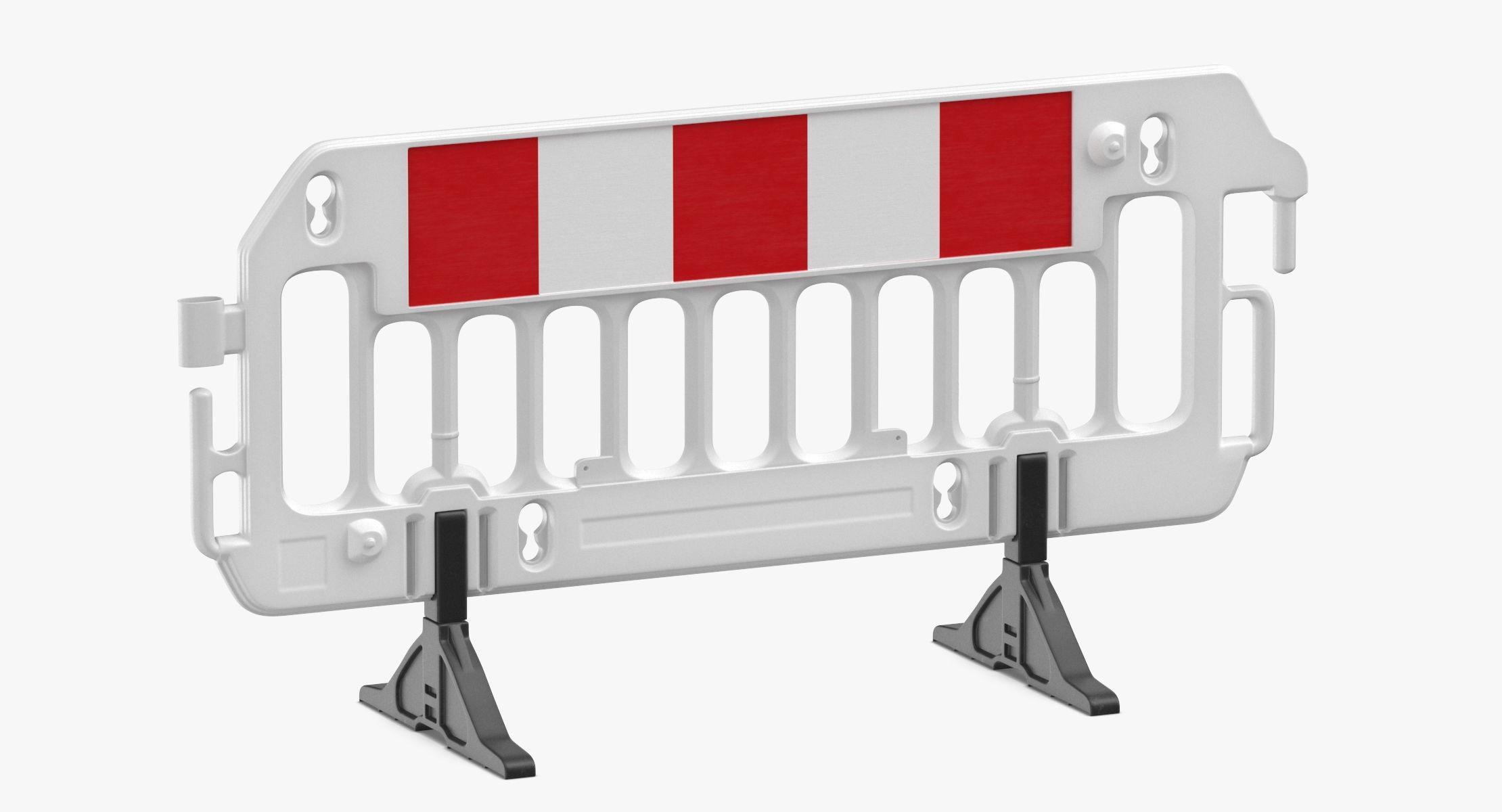 Construction Barrier 01 White - reel 1
