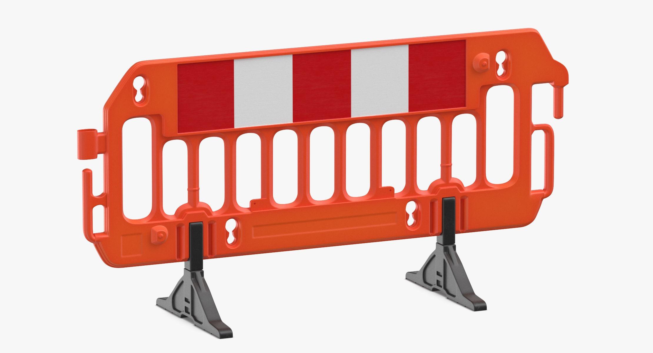 Construction Barrier 01 Orange - reel 1