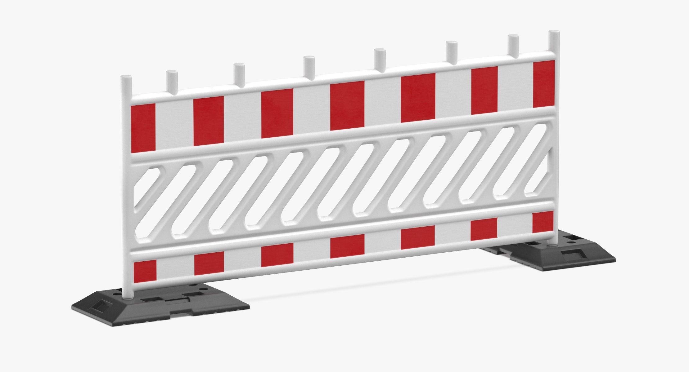 Construction Barrier 02 White - reel 1