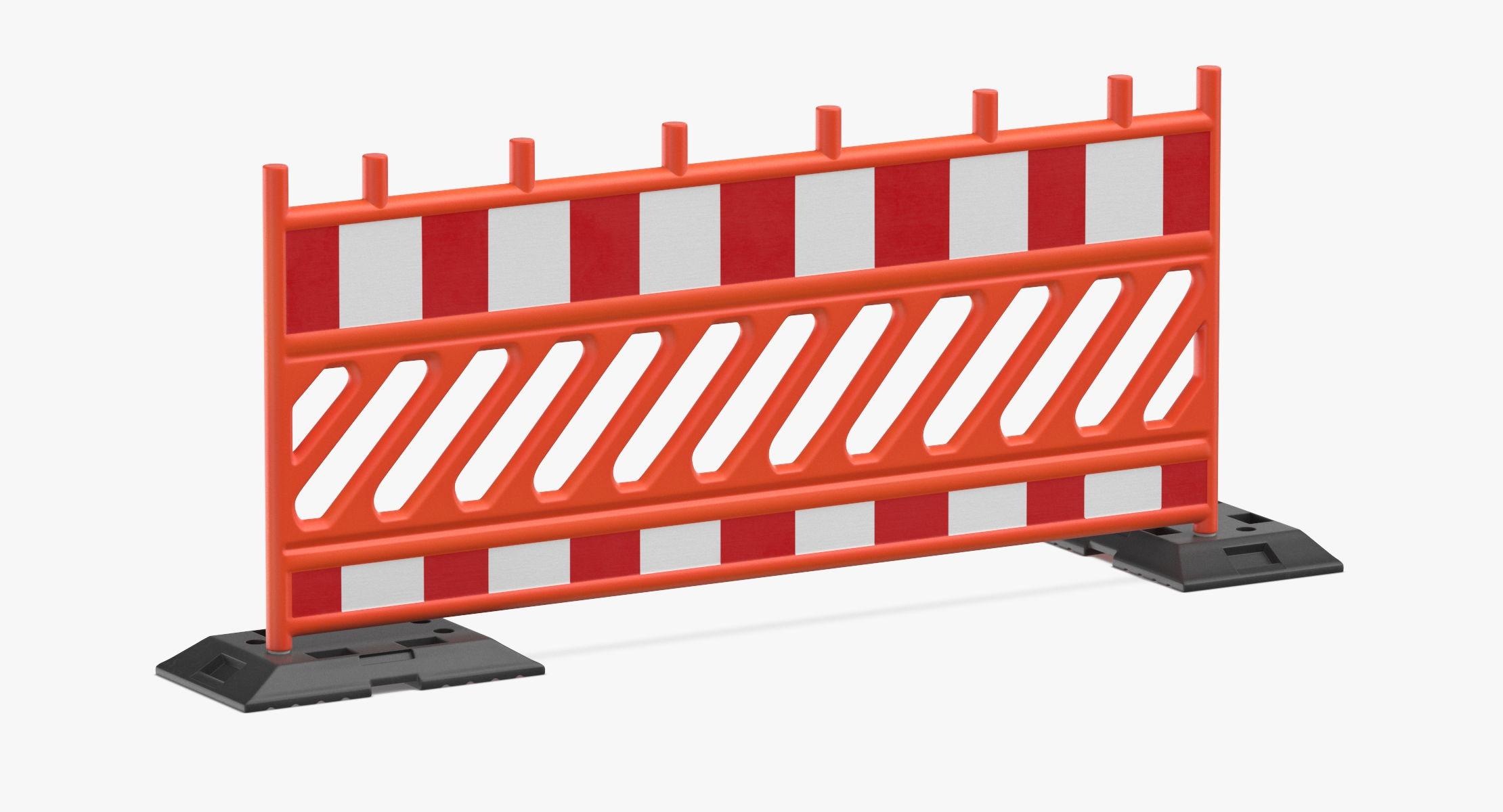 Construction Barrier 02 Orange - reel 1