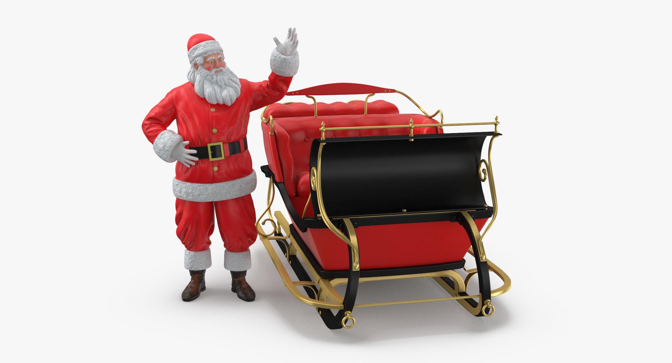 Santa and Sleigh 02 - reel 1