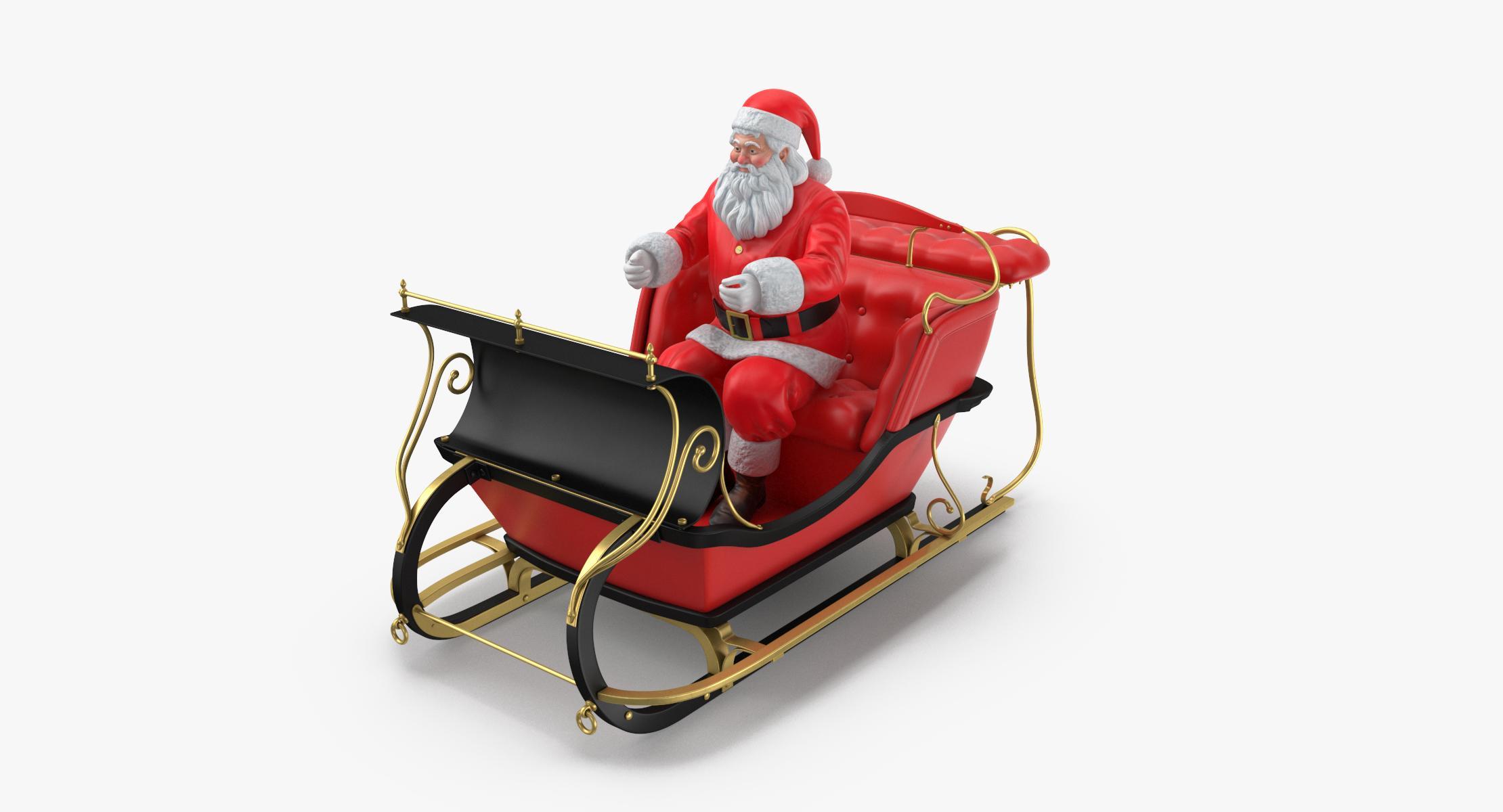 Santa and Sleigh 01 - reel 1