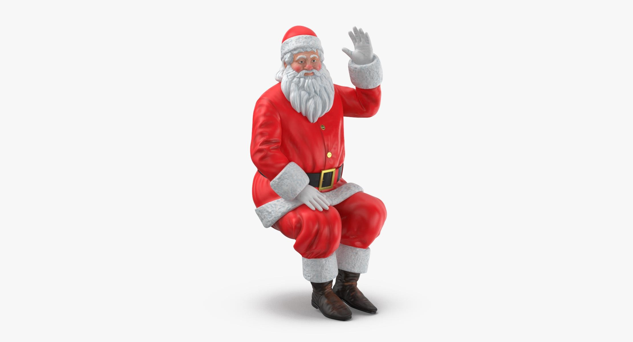 Santa Claus Figure Pose 04 - reel 1