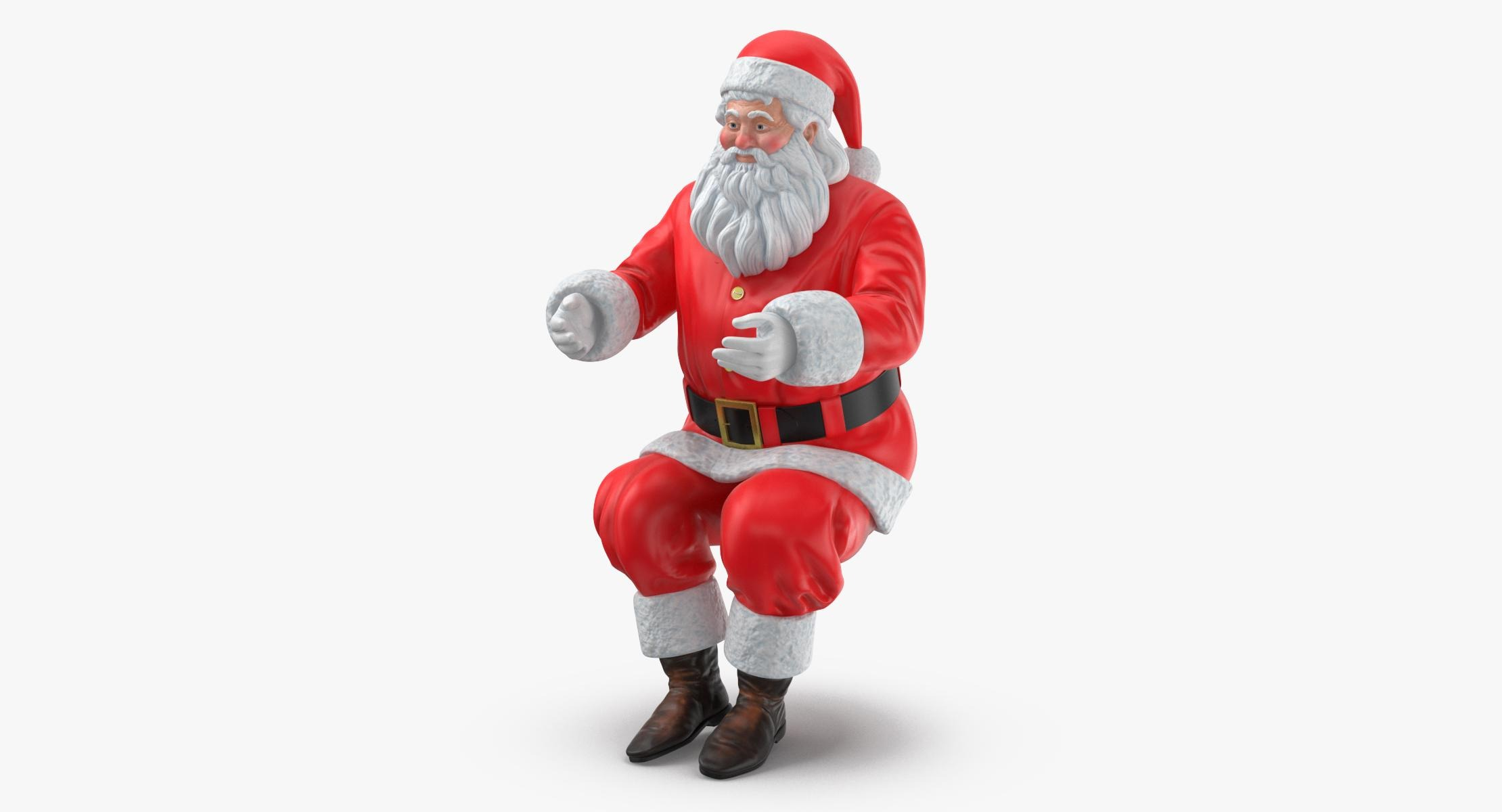 Santa Claus Figure Pose 03 - reel 1