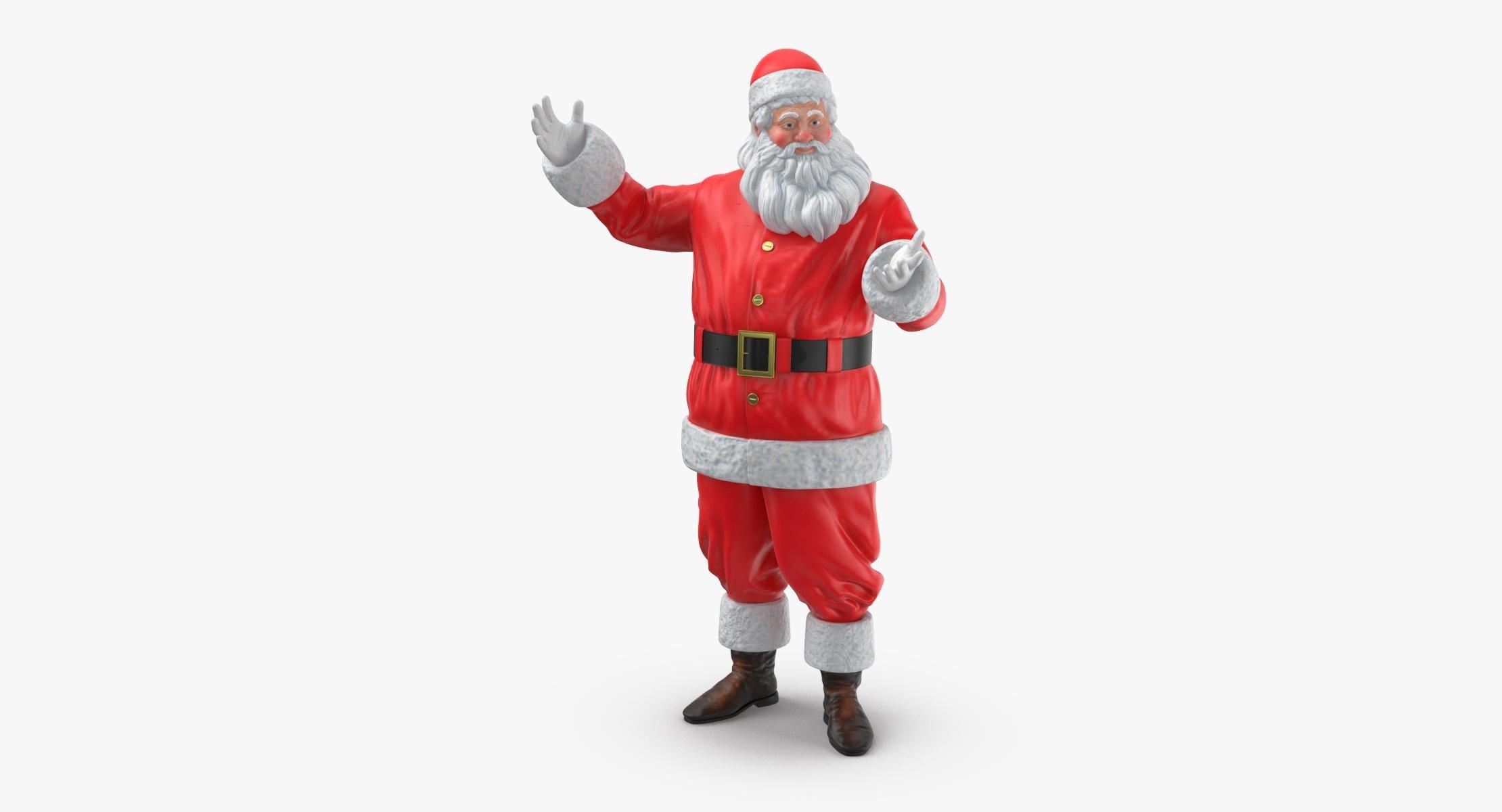 Santa Claus Figure Pose 02 - reel 1