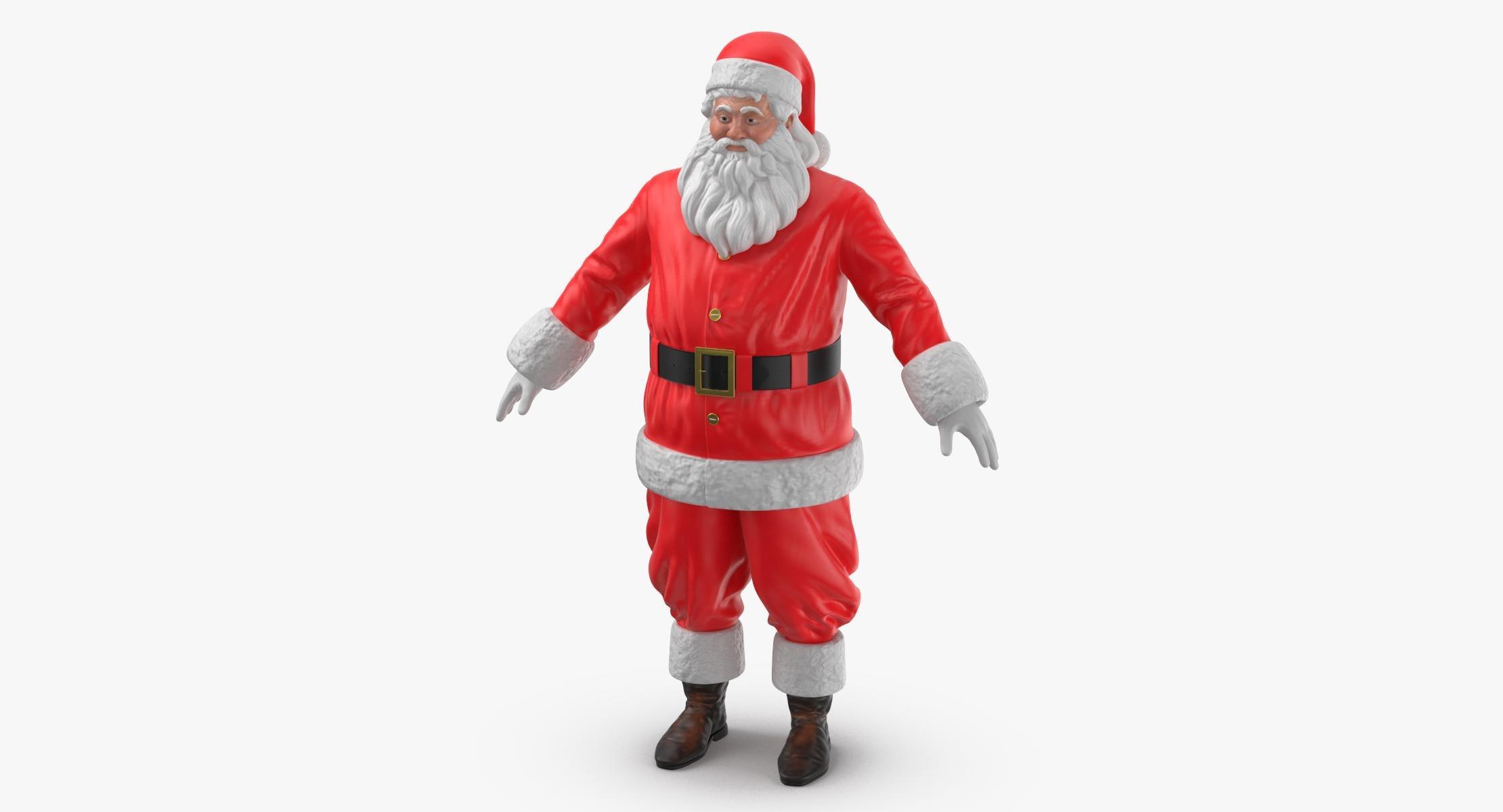 Santa Claus Figure A Pose - reel 1