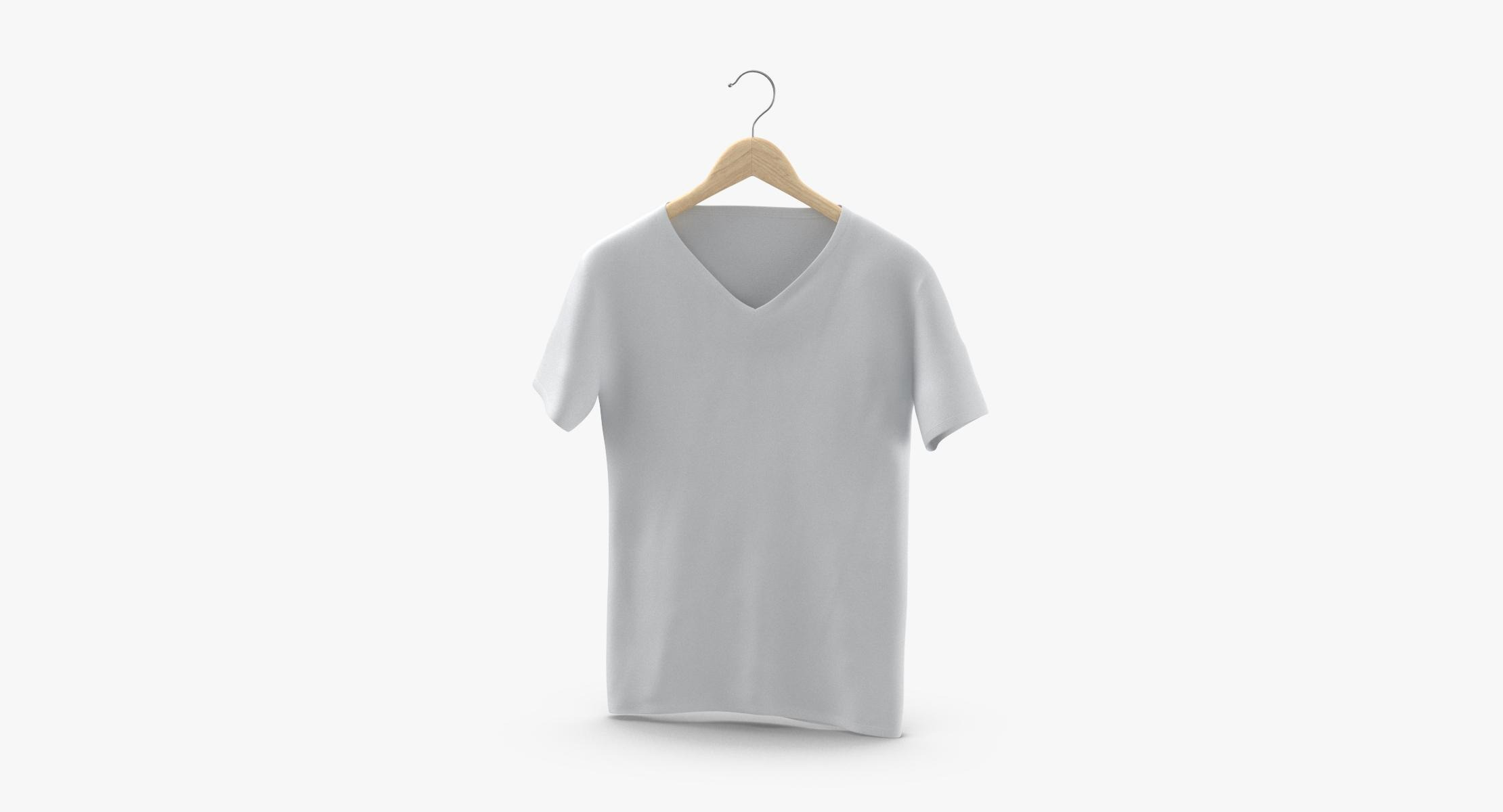 V-Neck Hanging On Hanger With Tag - reel 1