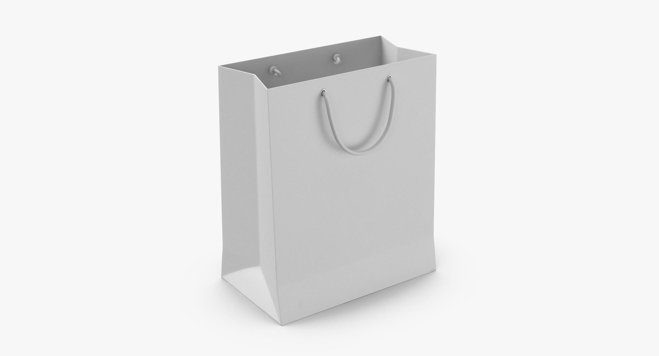 Paper Shopping Bag With String Handle Small - reel 1