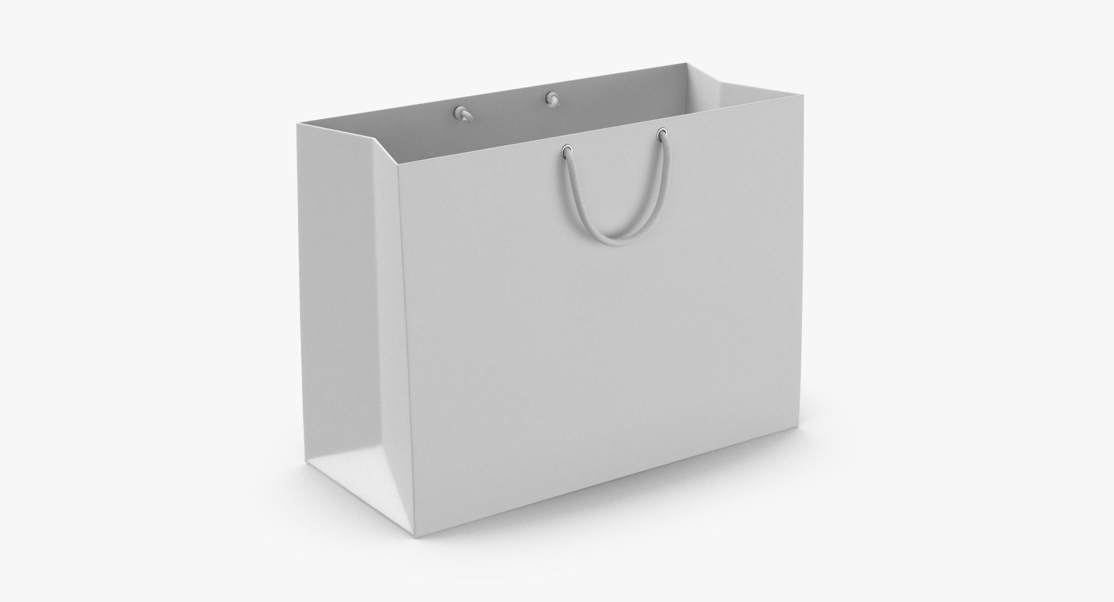 Paper Shopping Bag With String Handle Medium - reel 1