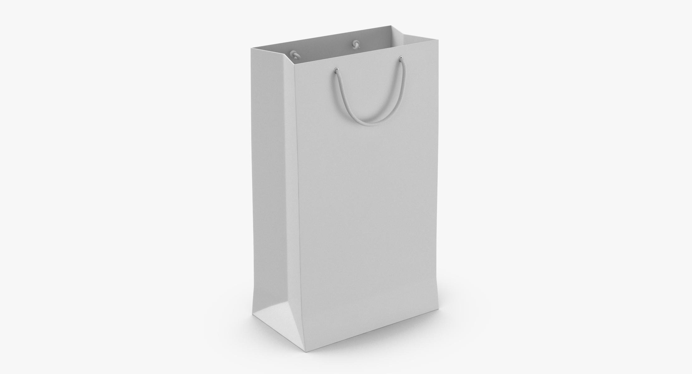 Paper Shopping Bag With String Handle Large - reel 1