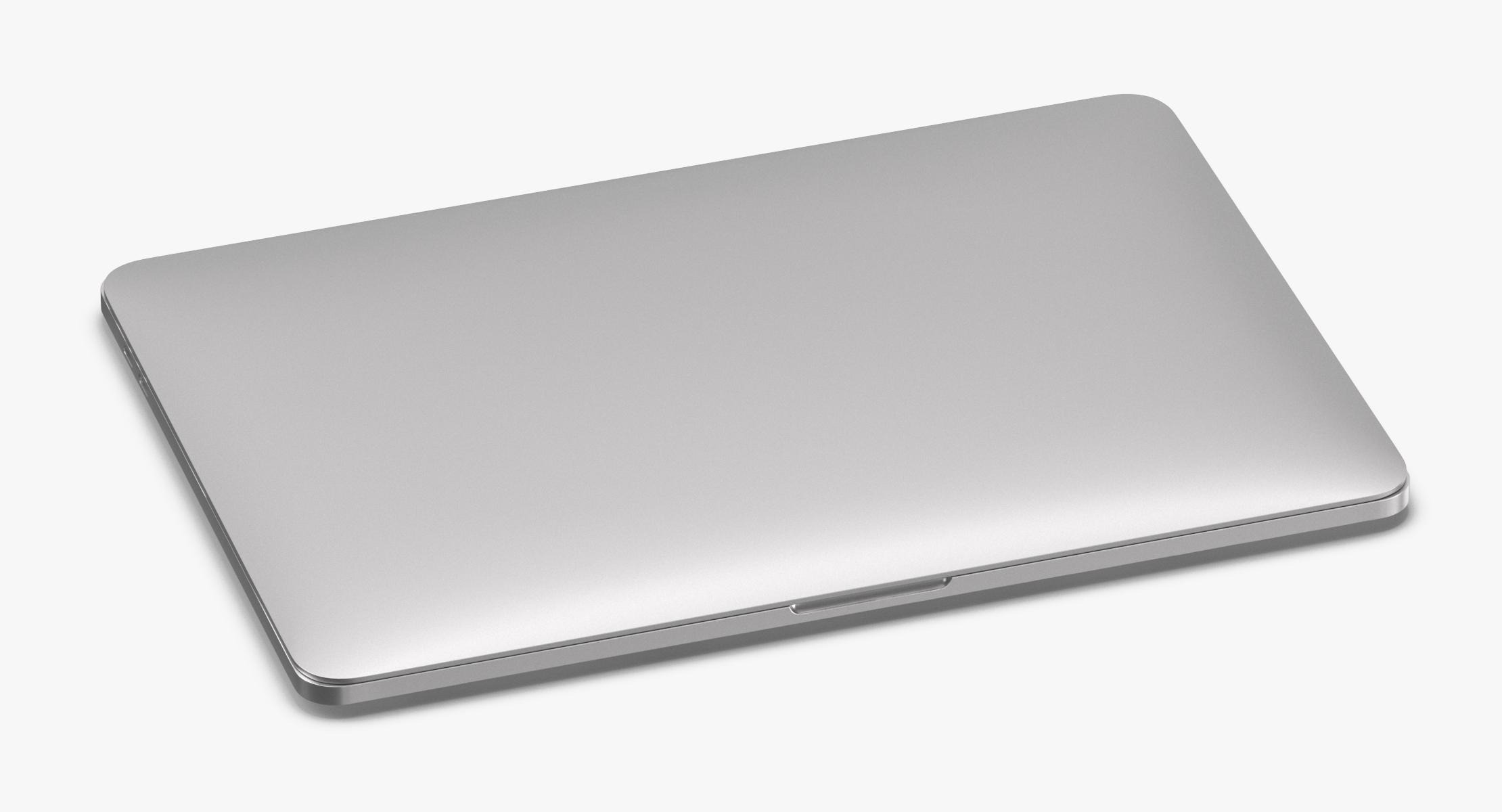 Silver Laptop Closed