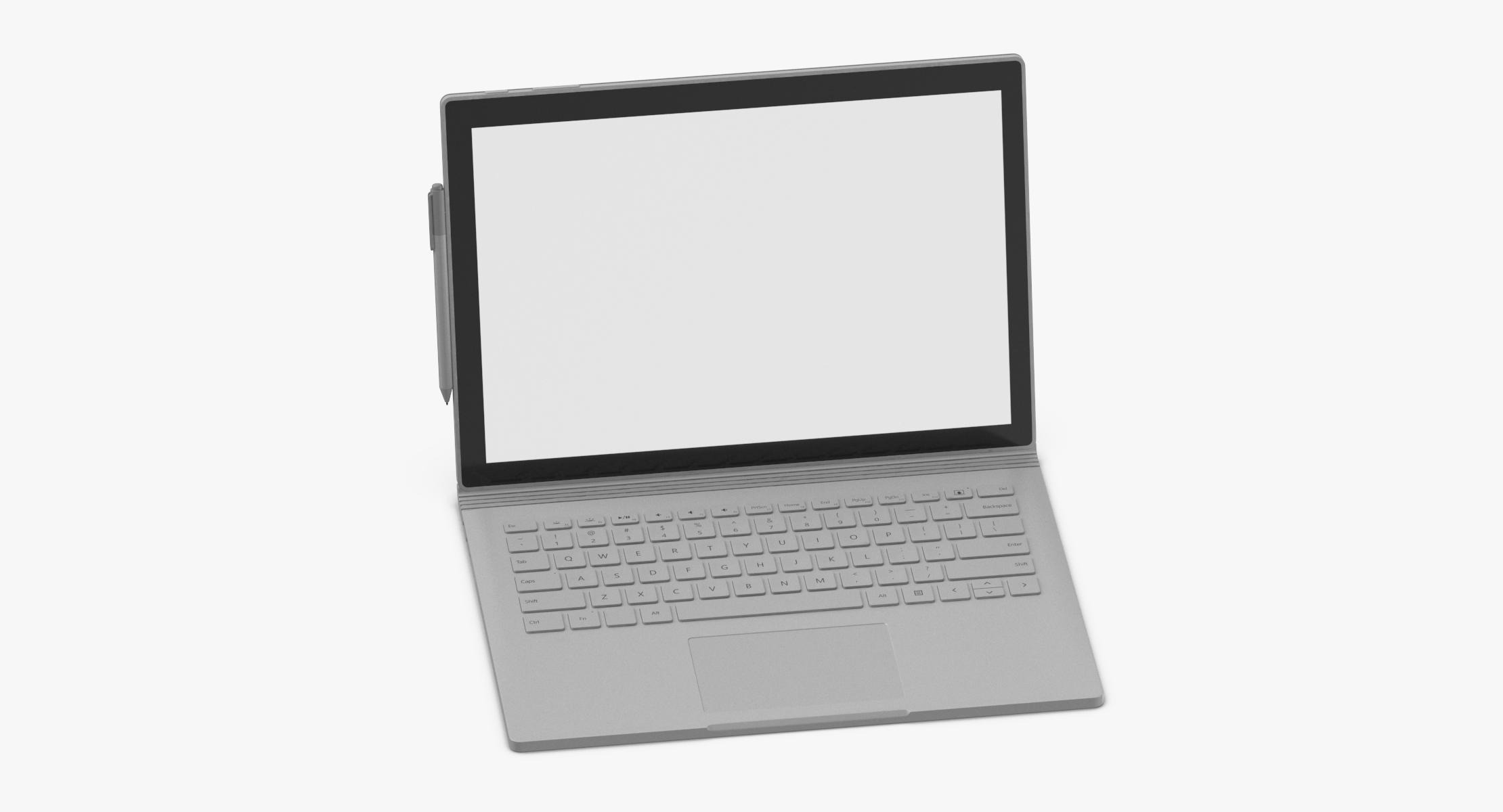 Microsoft Surface Book 2 Open - reel 1