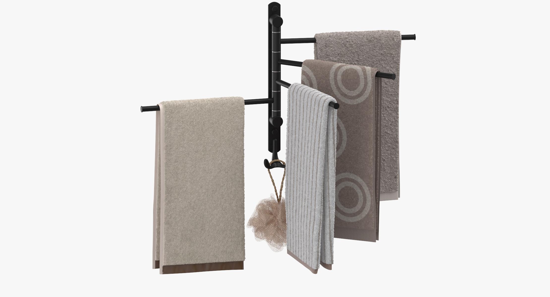 Modern Bathroom Towel Rack - reel 1