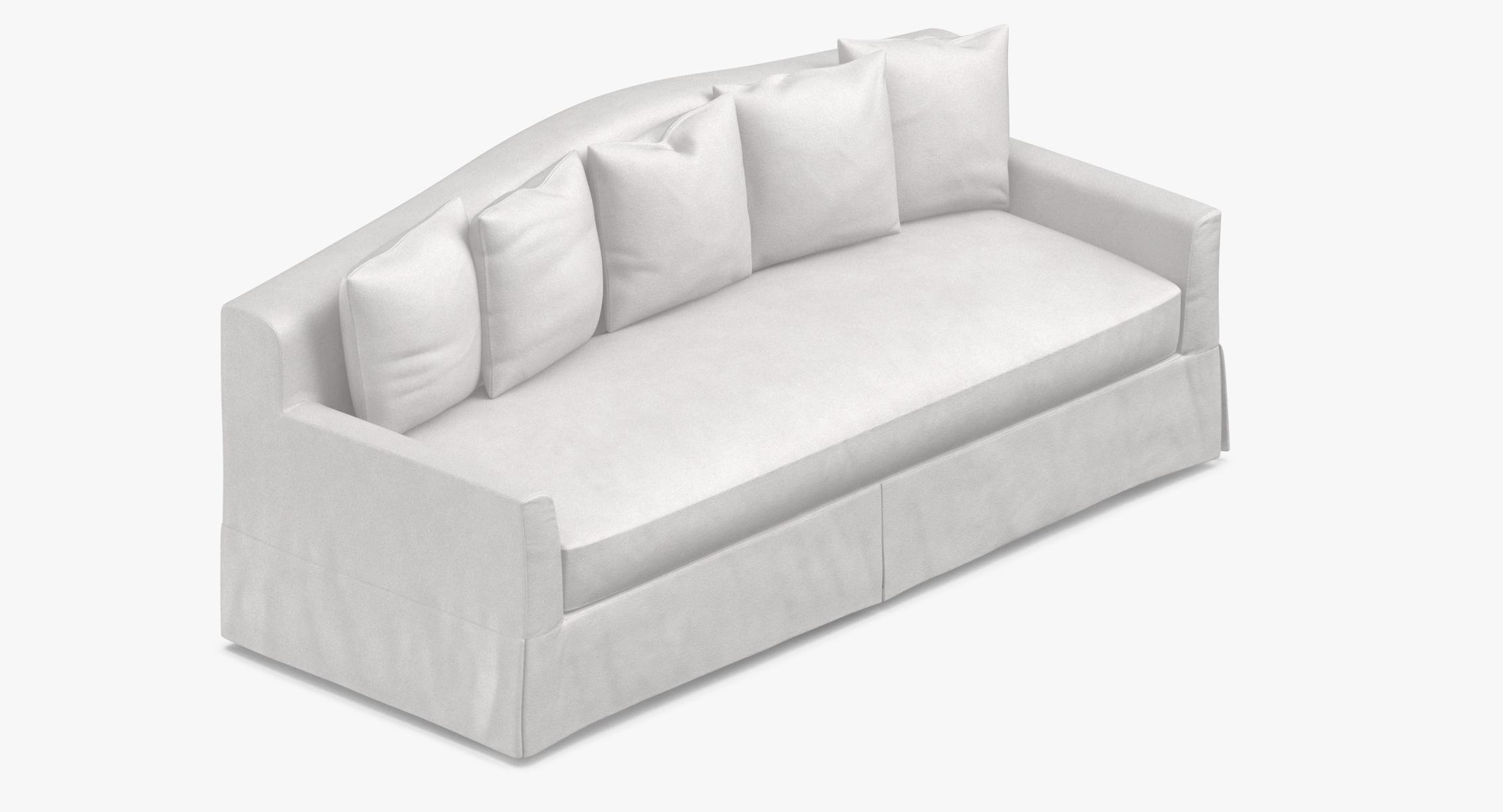 Traditional 4 Seater Sofa 3D model - reel 1