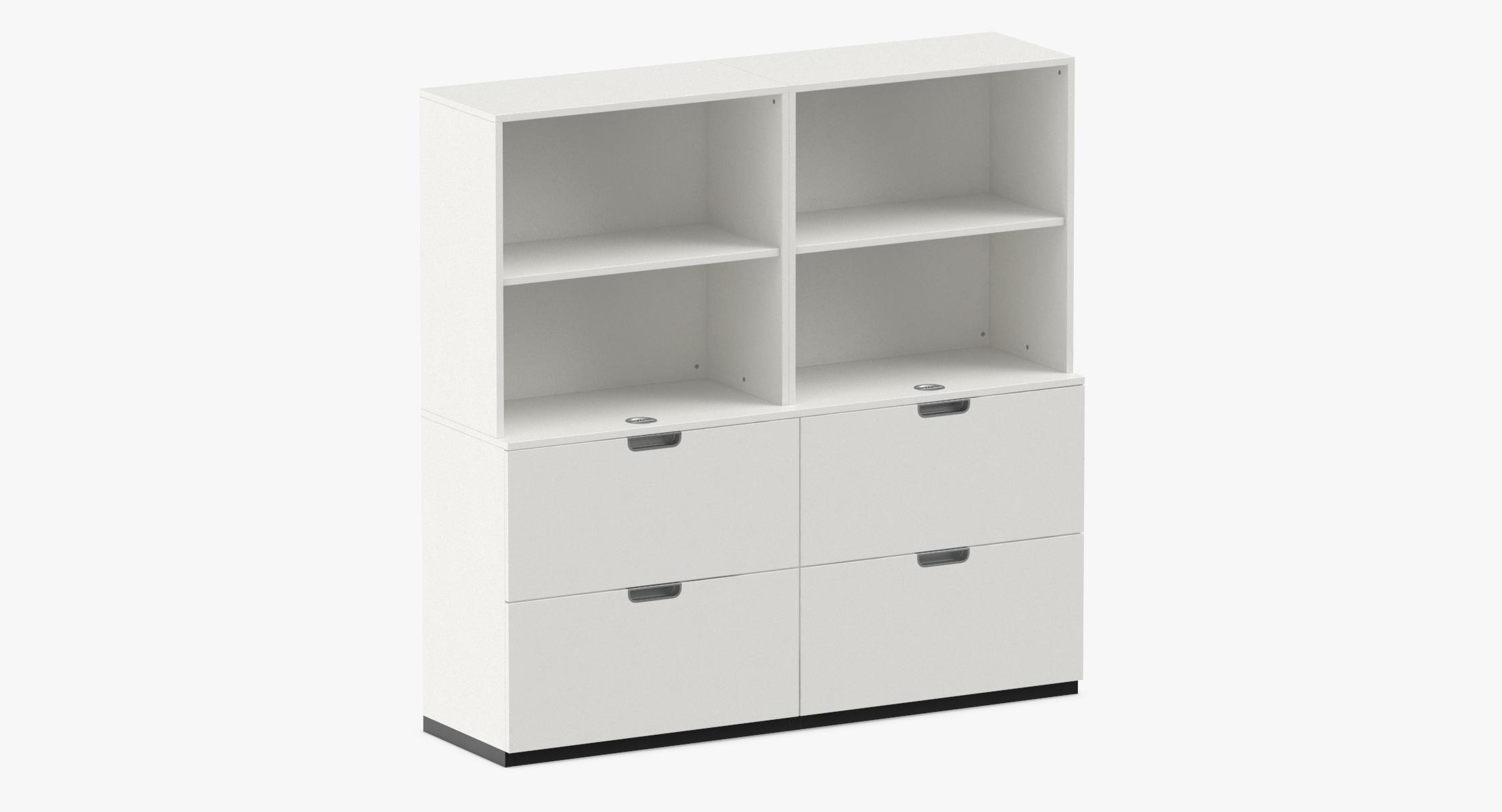 Scandinavian Filing Cabinet 3D model - reel 1