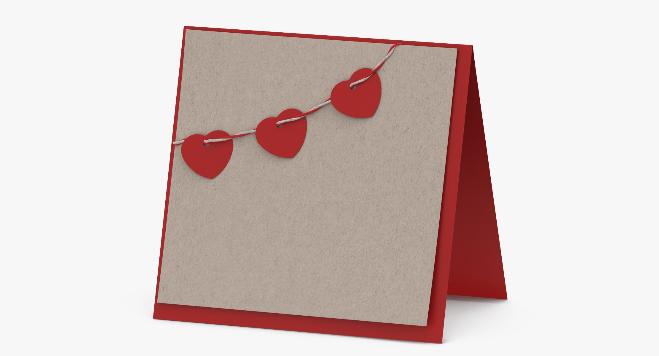 Valentine's Card 03 Standing - reel 1