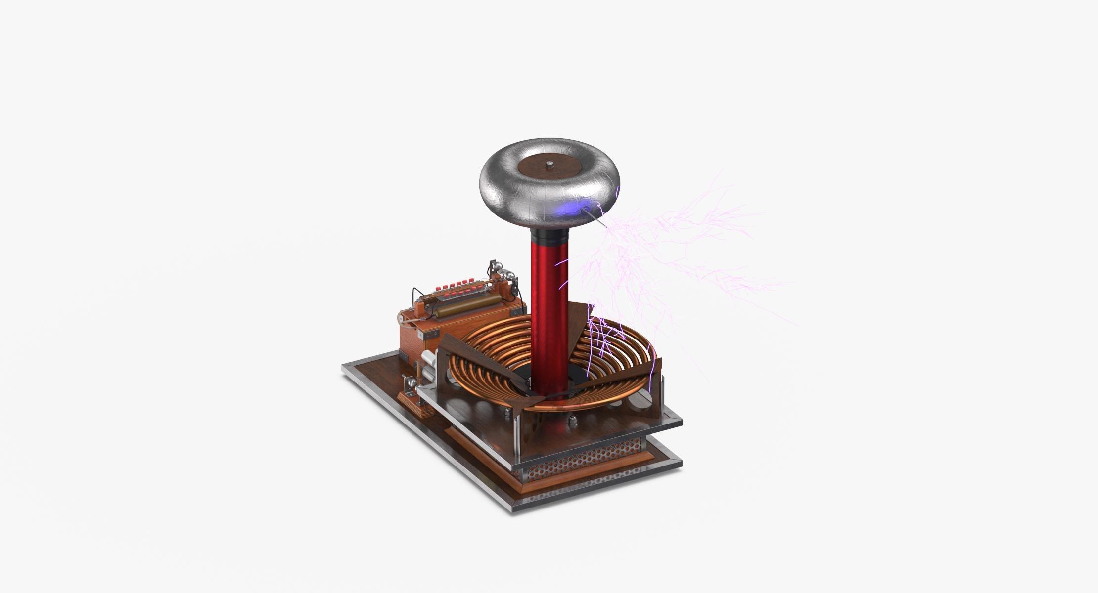 Tesla Coil 03 Lit - reel 1