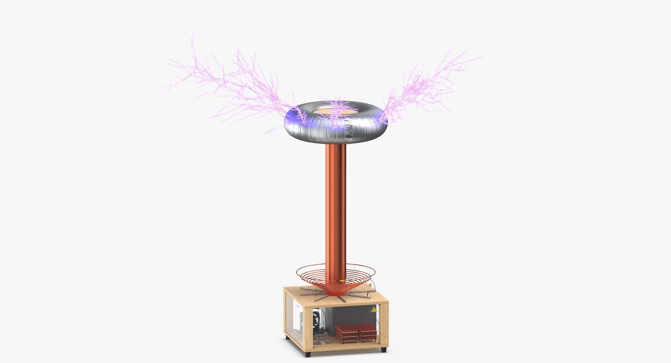 Tesla Coil 02 Lit - reel 1