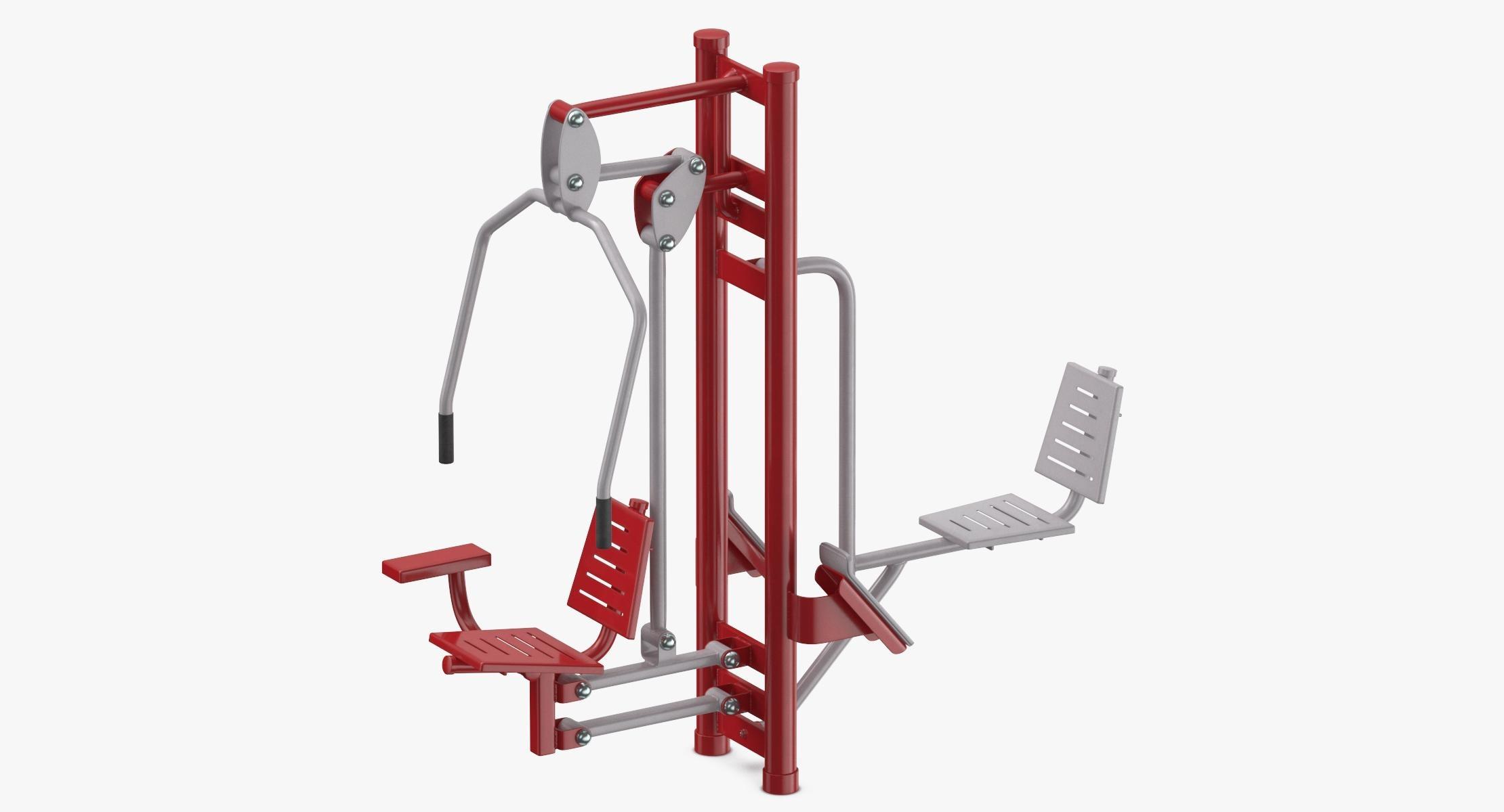 Street Fitness Equipment 01 03 - reel 1
