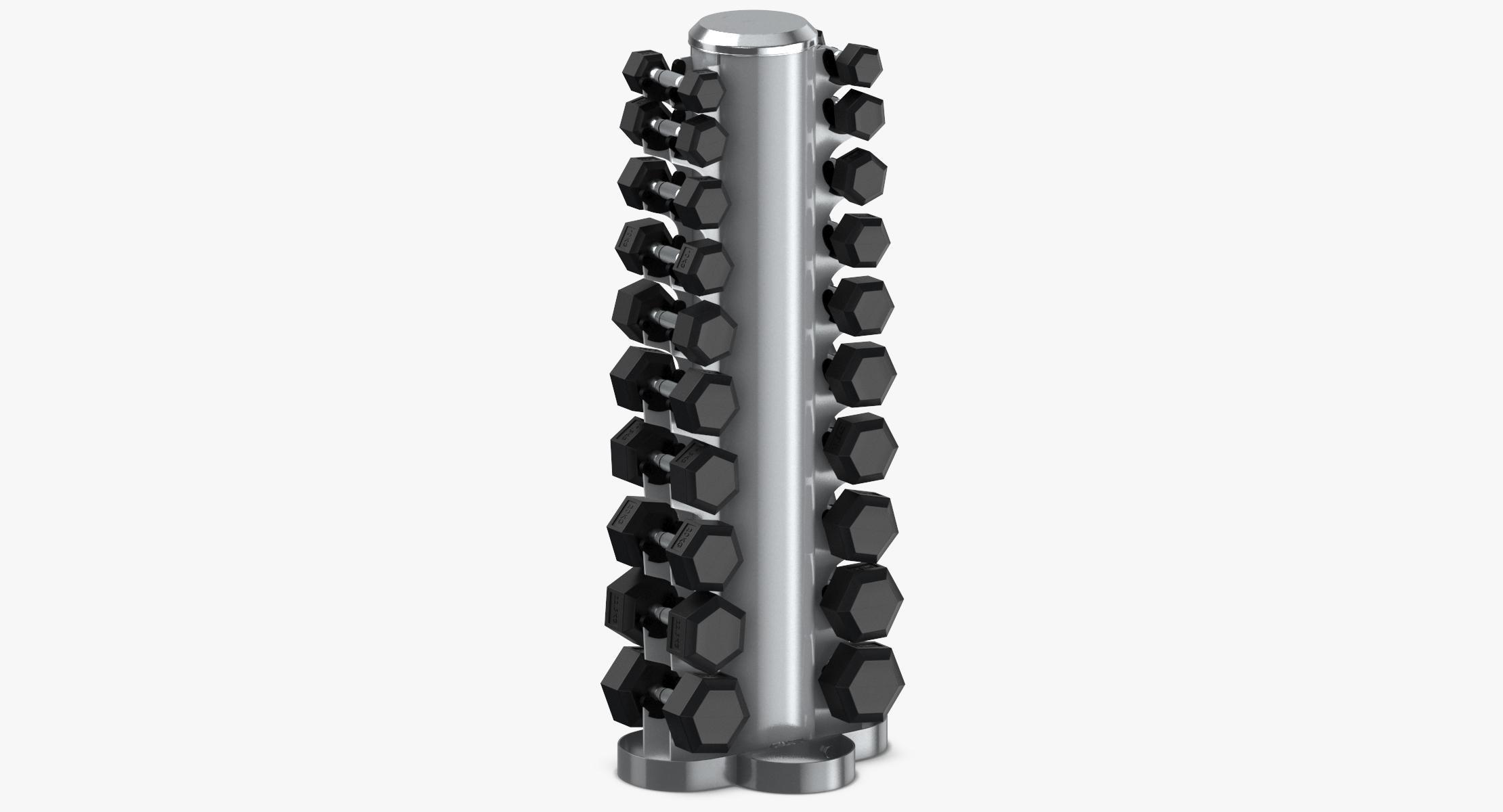 Dumbbell Rack 02 - reel 1
