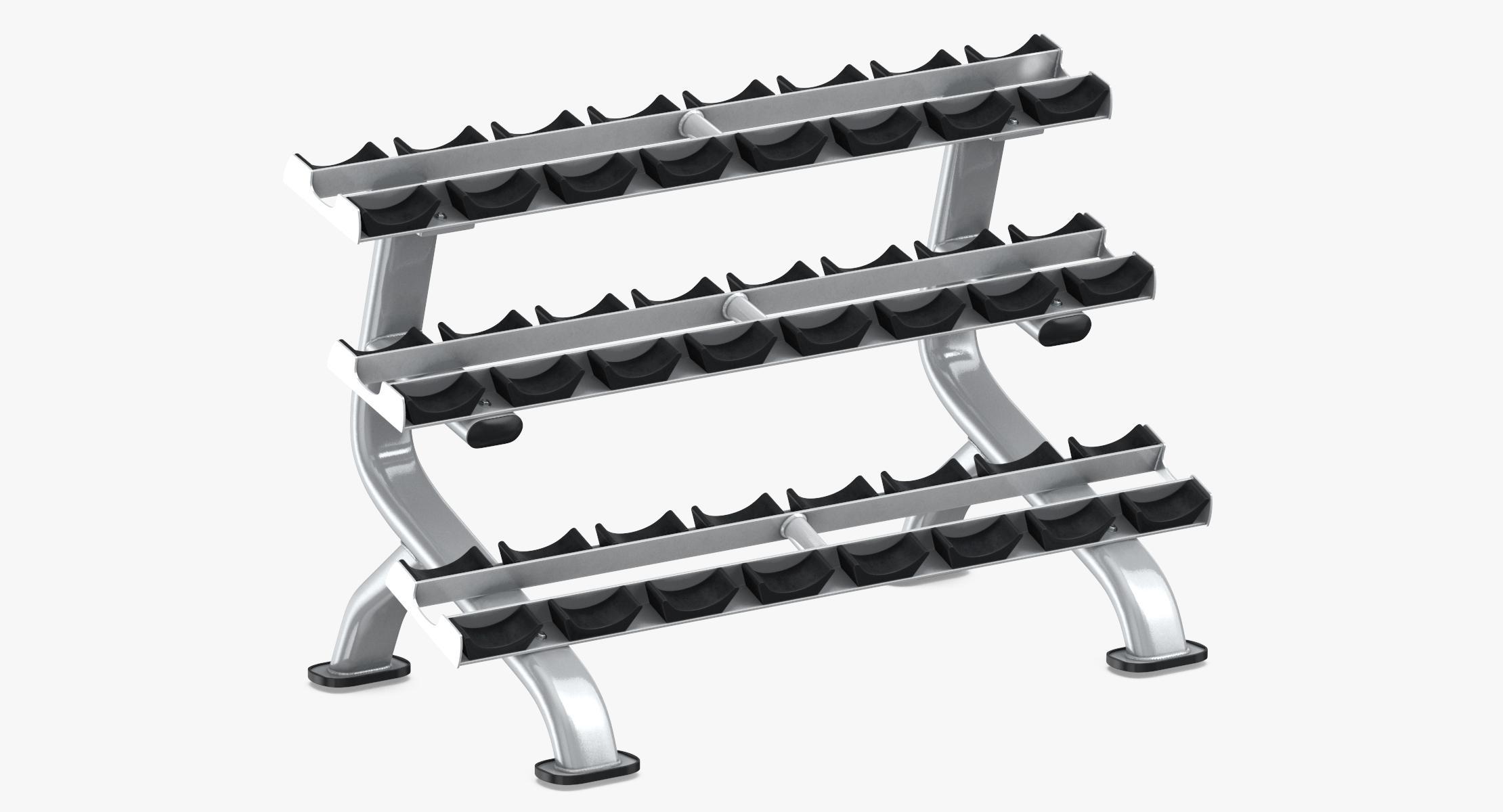 Dumbbell Rack 01 - reel 1