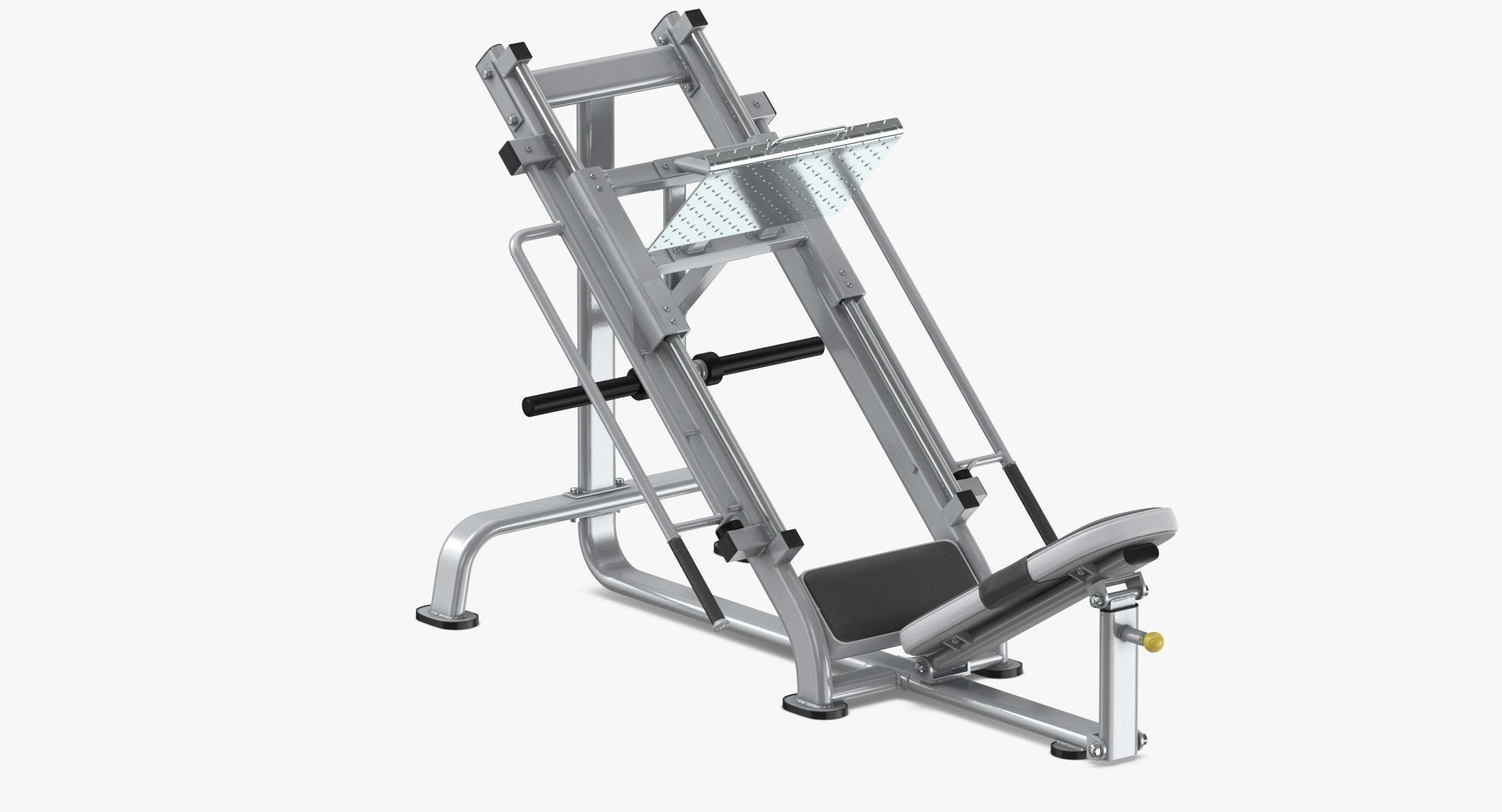 45 Leg Press - reel 1