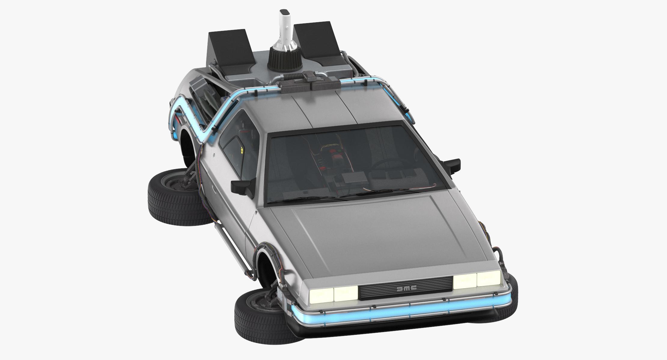 DeLorean Flying - reel 1