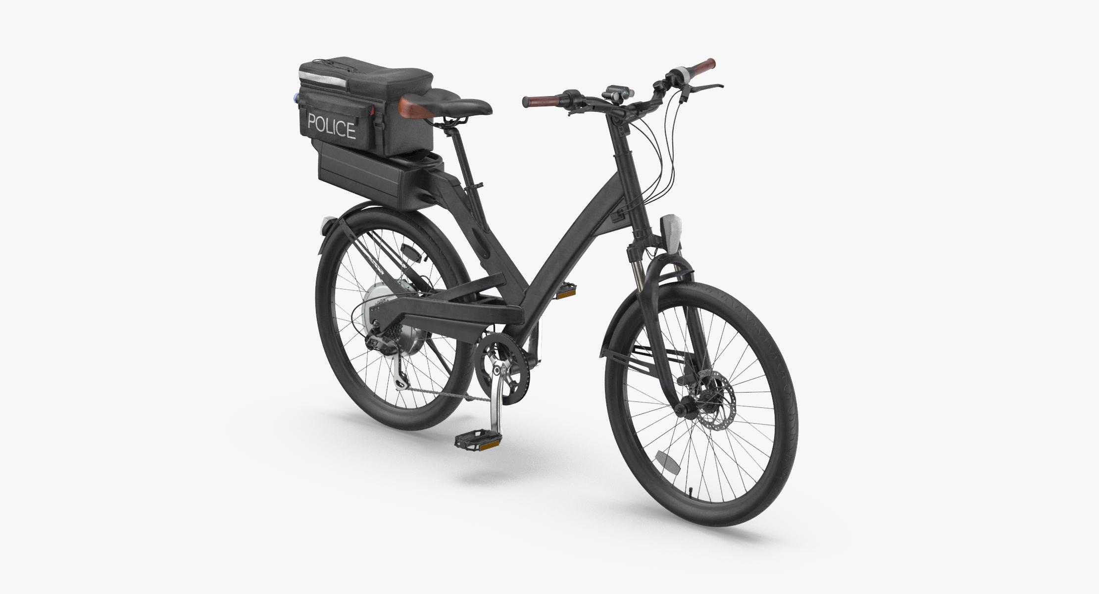 Police Bike Rigged - reel 1